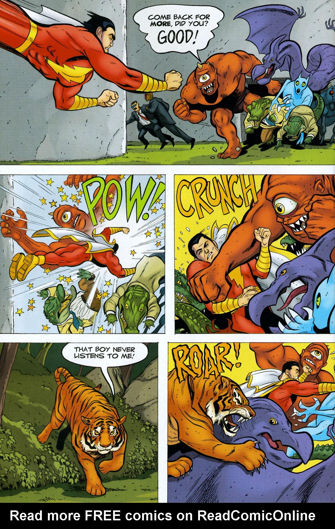Read online Shazam!: The Monster Society of Evil comic -  Issue #4 - 4