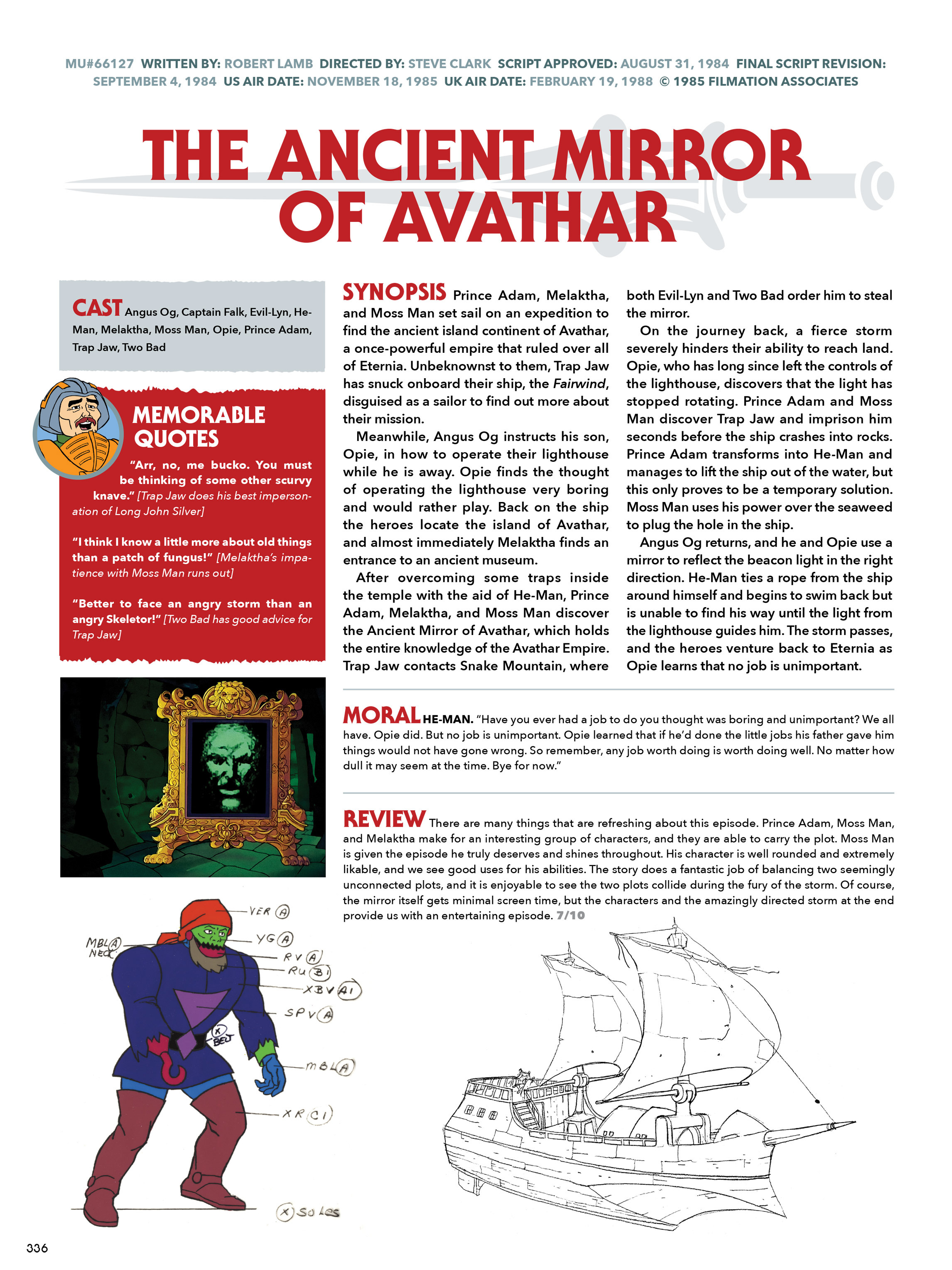 Read online He-Man and She-Ra: A Complete Guide to the Classic Animated Adventures comic -  Issue # TPB (Part 2) - 137