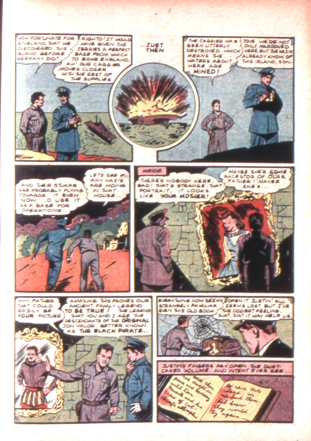 Read online Sensation (Mystery) Comics comic -  Issue #17 - 49