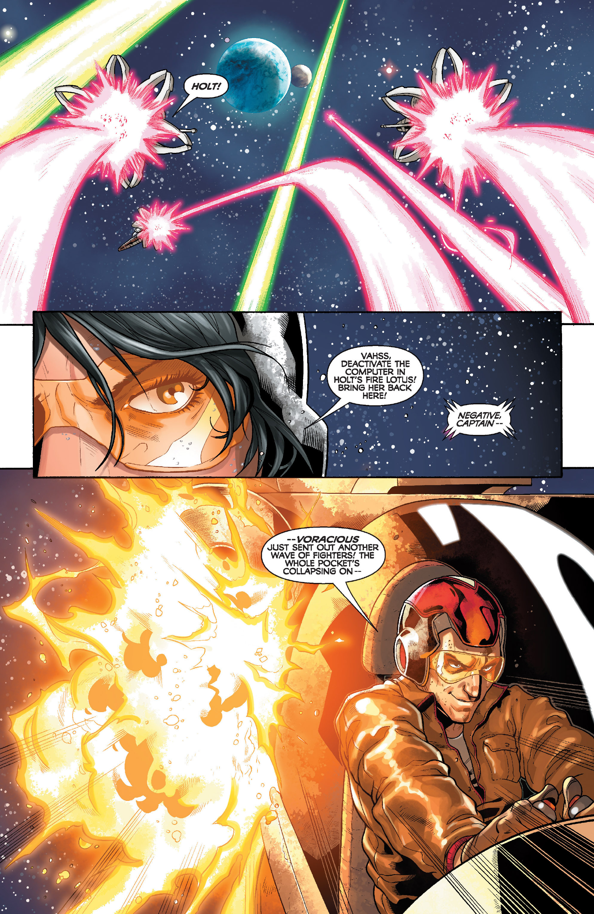 Read online Star Wars: Knight Errant - Deluge comic -  Issue #3 - 7