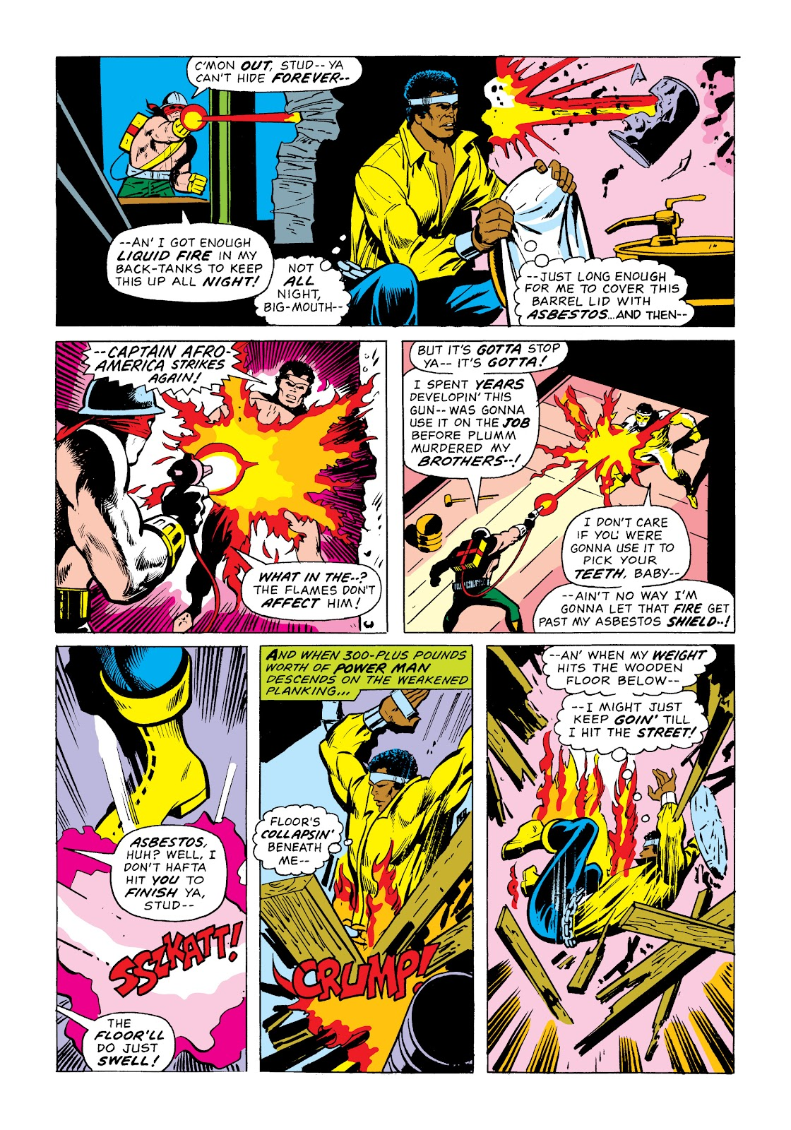 Read online Marvel Masterworks: Luke Cage, Power Man comic -  Issue # TPB 2 (Part 1) - 42