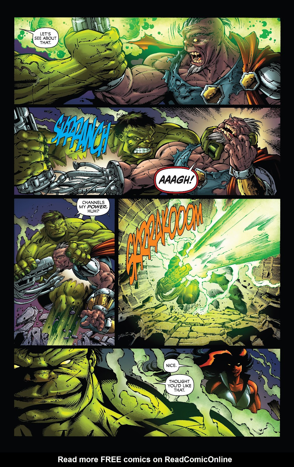 Read online Incredible Hulks (2010) comic -  Issue # _TPB Heart of the Monster - 62
