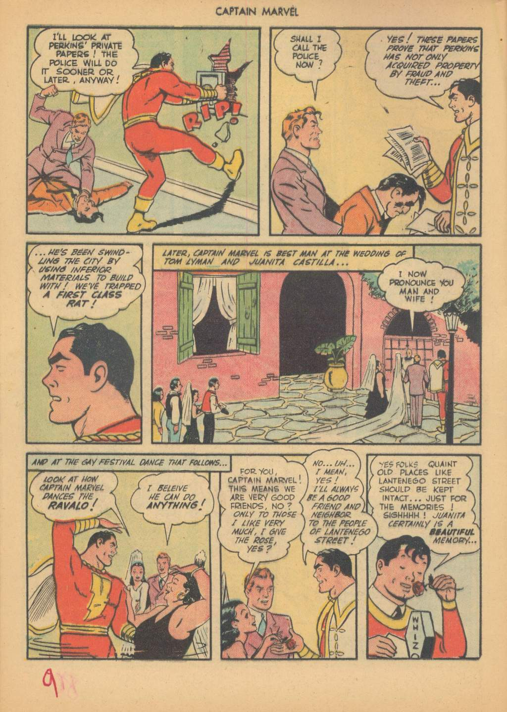 Captain Marvel Adventures issue 63 - Page 12