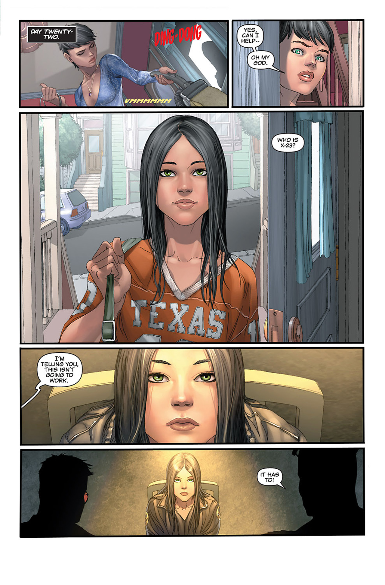 Read online X-23: Target X comic -  Issue #1 - 23