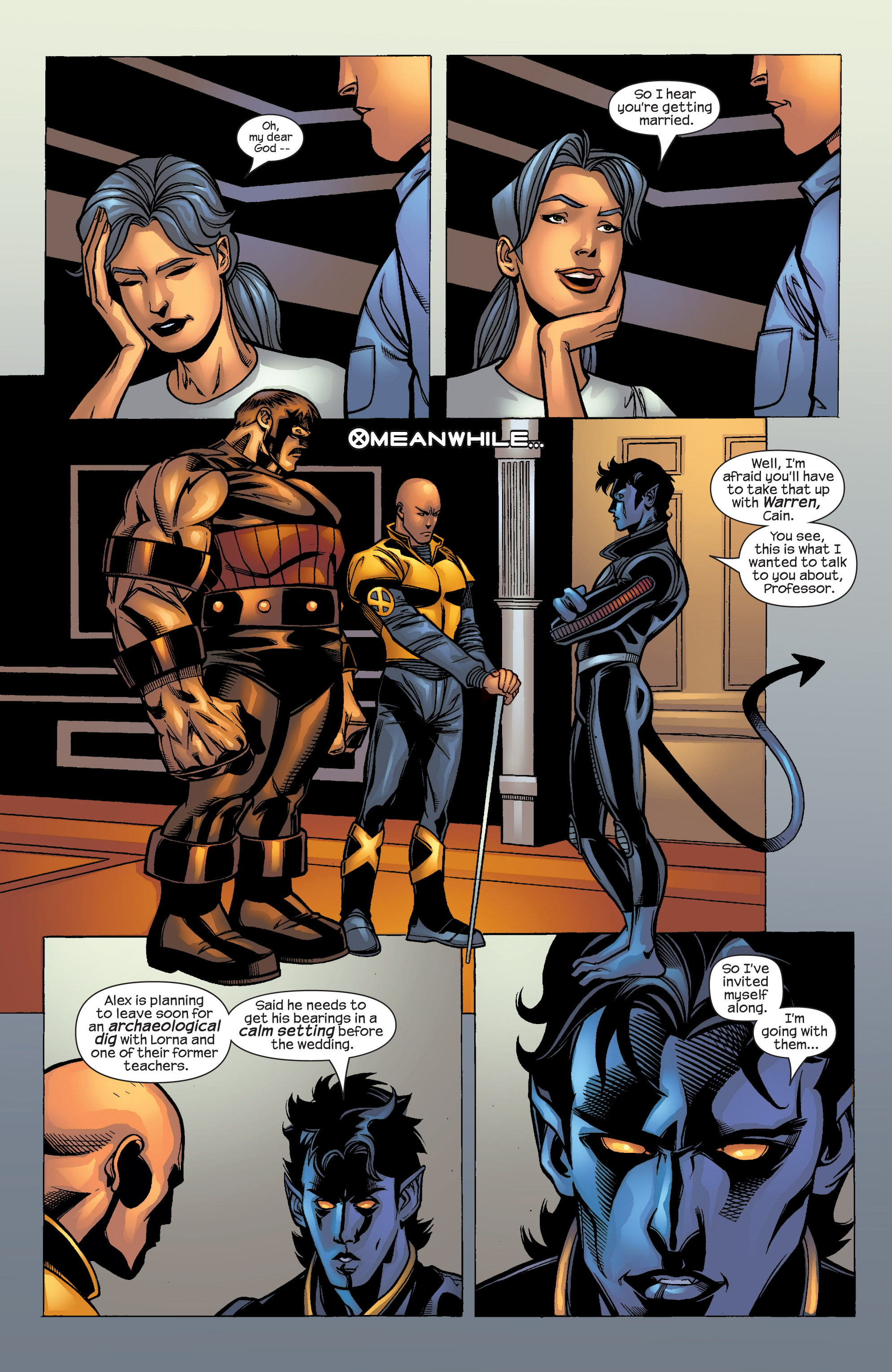 Read online Uncanny X-Men (1963) comic -  Issue #421 - 22