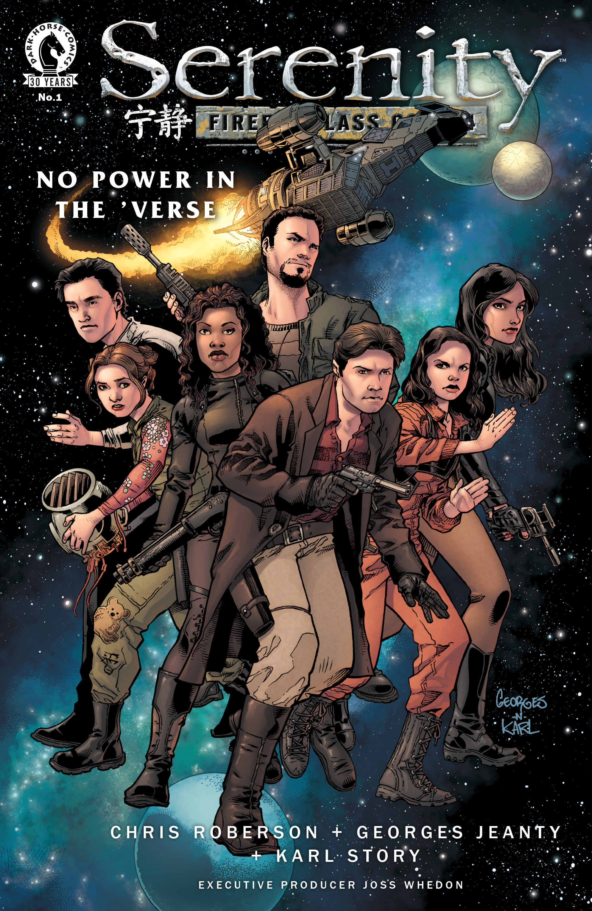 Read online Serenity: Firefly Class 03-K64 – No Power in the 'Verse comic -  Issue #1 - 2