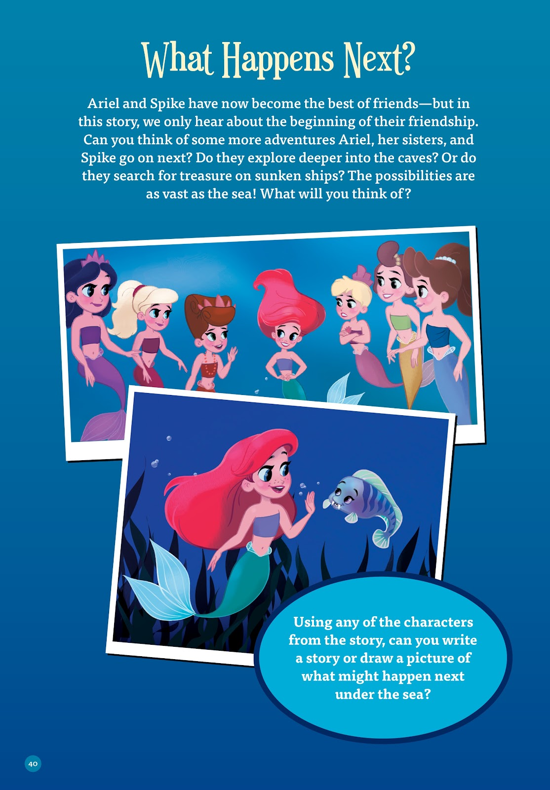 Read online Disney Princess: Ariel and the Sea Wolf comic -  Issue # Full - 37