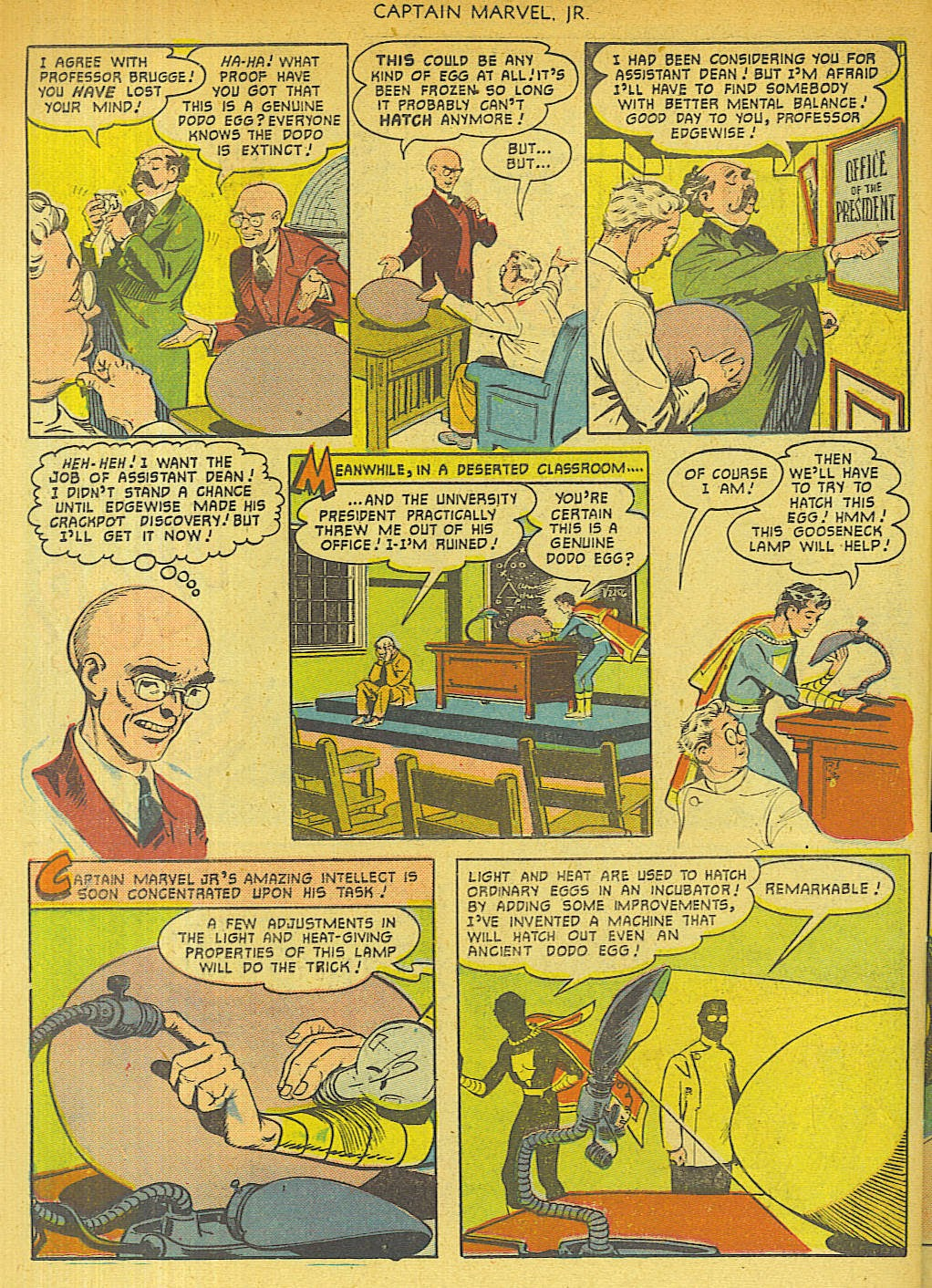 Captain Marvel, Jr. issue 96 - Page 38