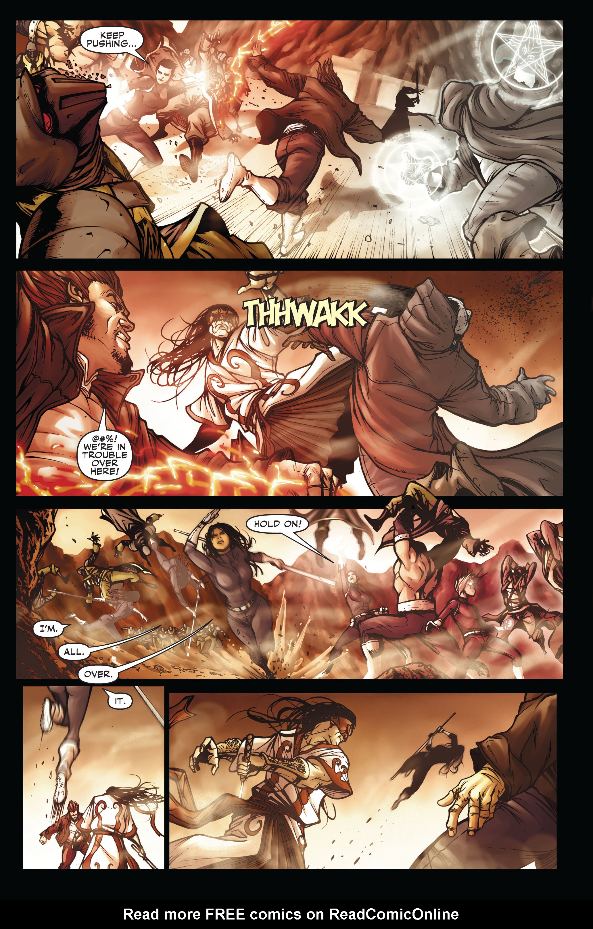Read online Secret Warriors comic -  Issue #3 - 17