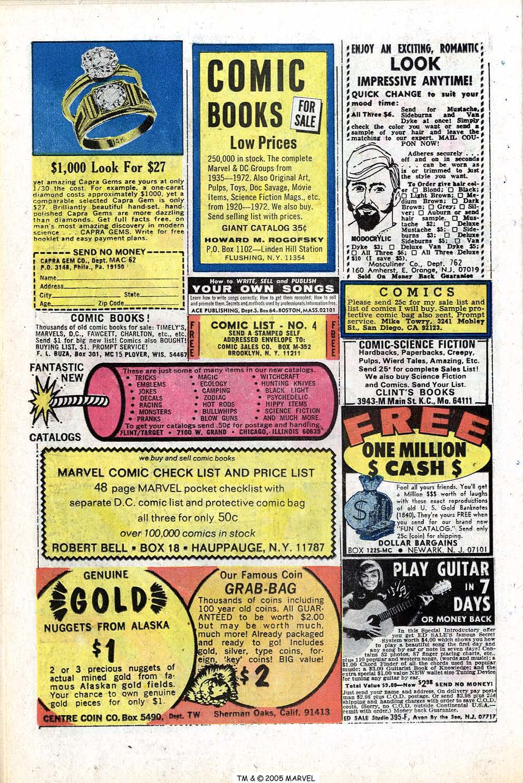 Read online Uncanny X-Men (1963) comic -  Issue #77 - 26
