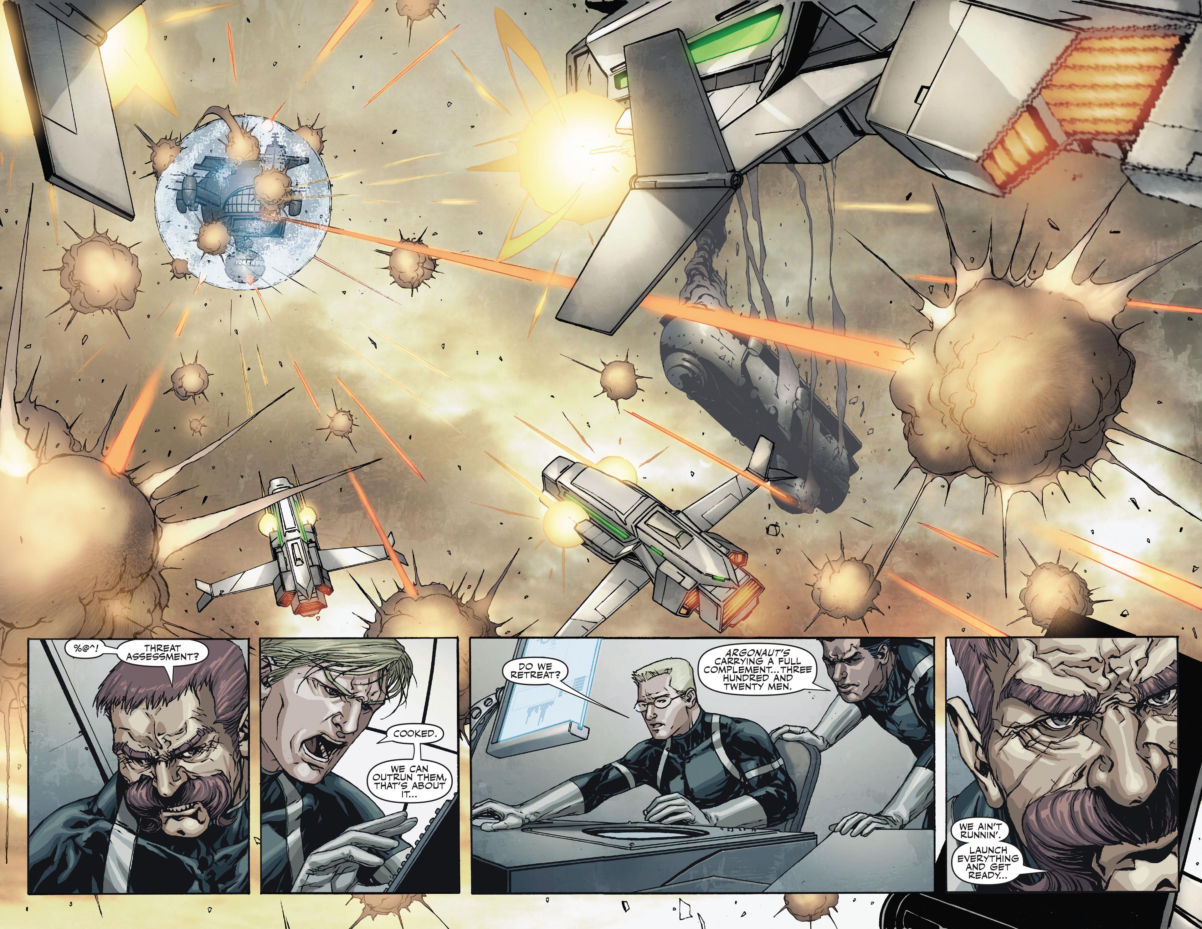 Read online Secret Warriors comic -  Issue #18 - 23