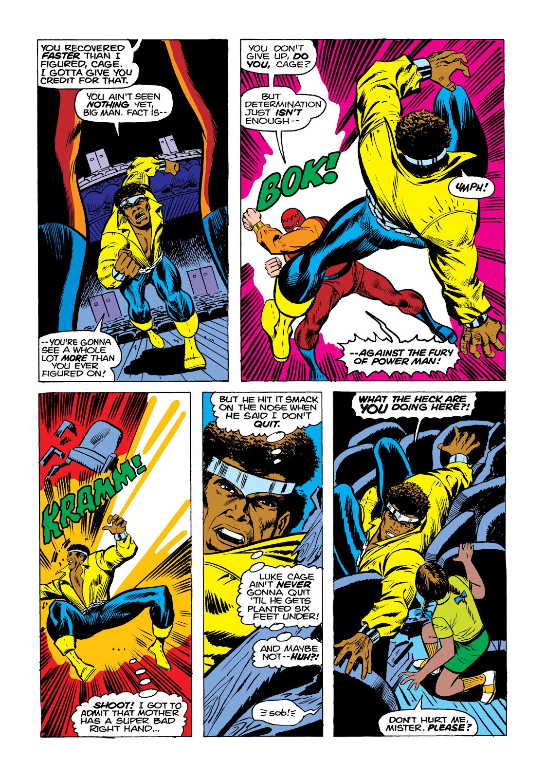Read online Marvel Masterworks: Luke Cage, Power Man comic -  Issue # TPB 2 (Part 1) - 97