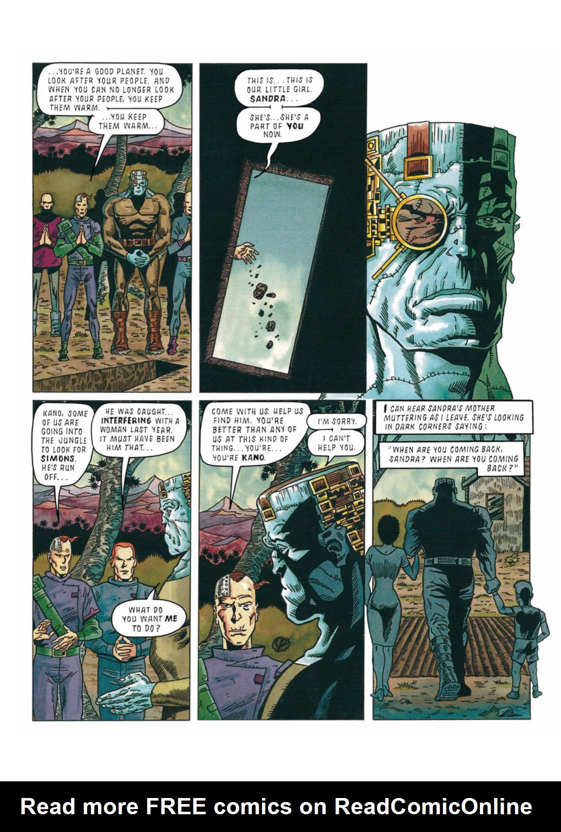 Read online The Complete Bad Company comic -  Issue # TPB - 266