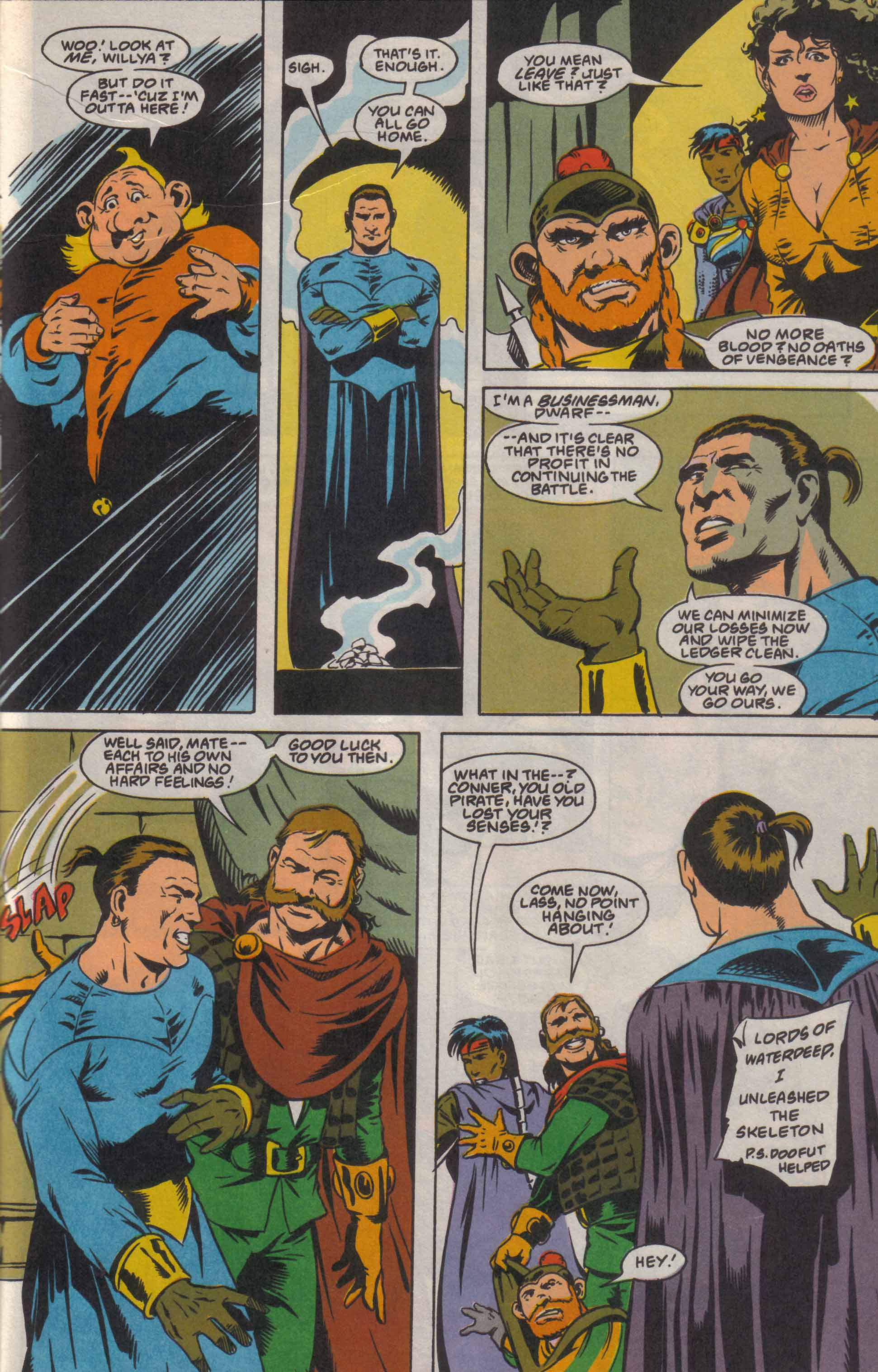 Read online Advanced Dungeons & Dragons comic -  Issue #8 - 22