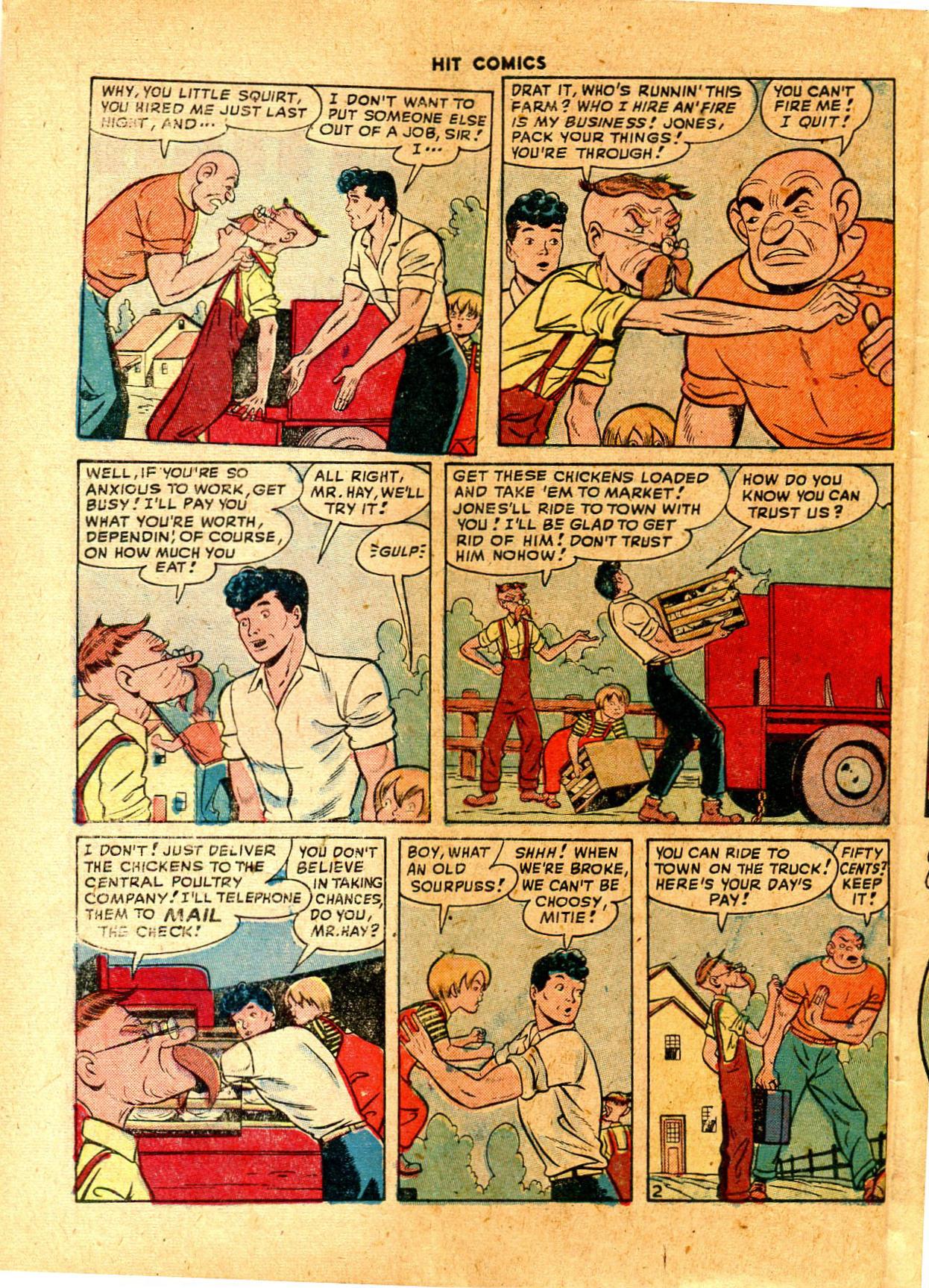 Read online Hit Comics comic -  Issue #57 - 46