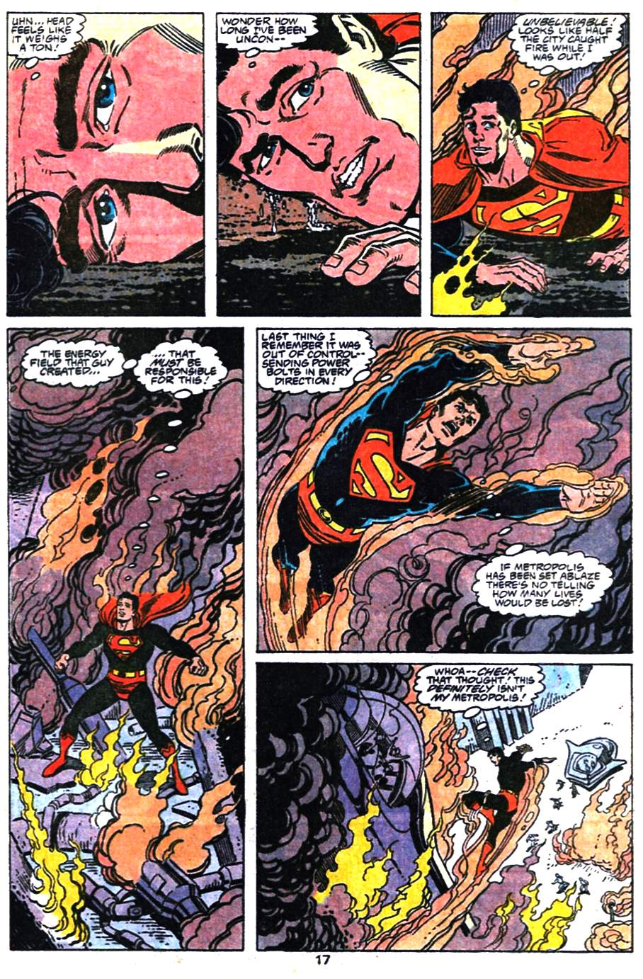 Read online Adventures of Superman (1987) comic -  Issue #476 - 18