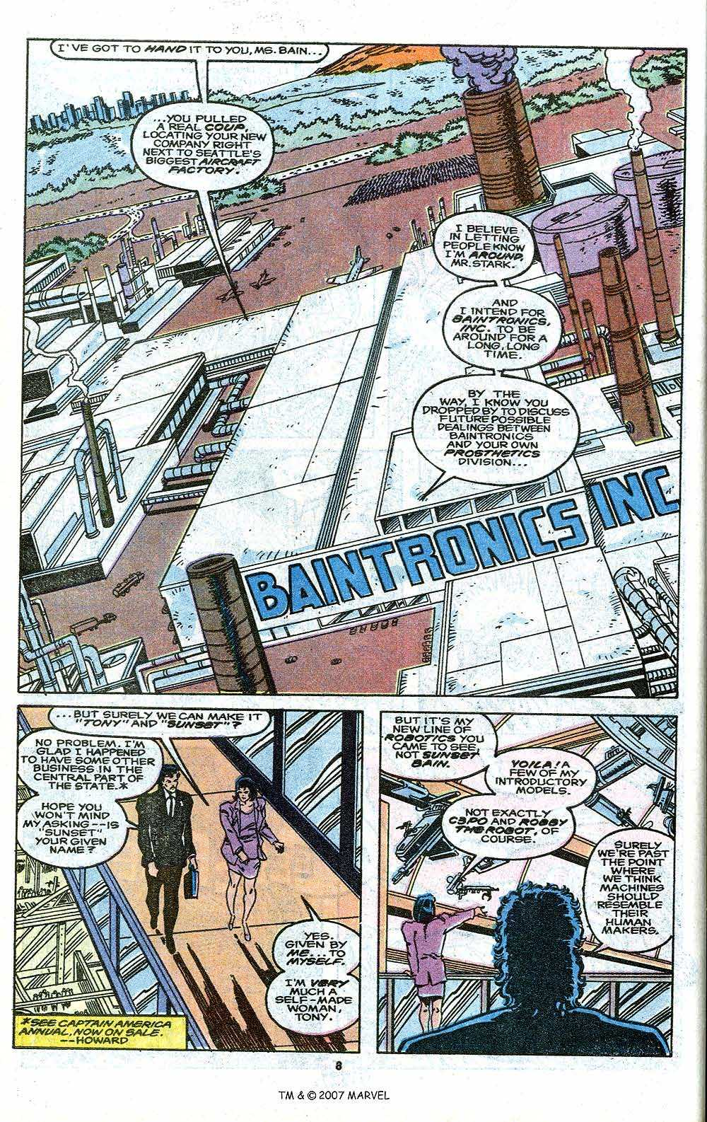 Iron Man Annual issue 11 - Page 10