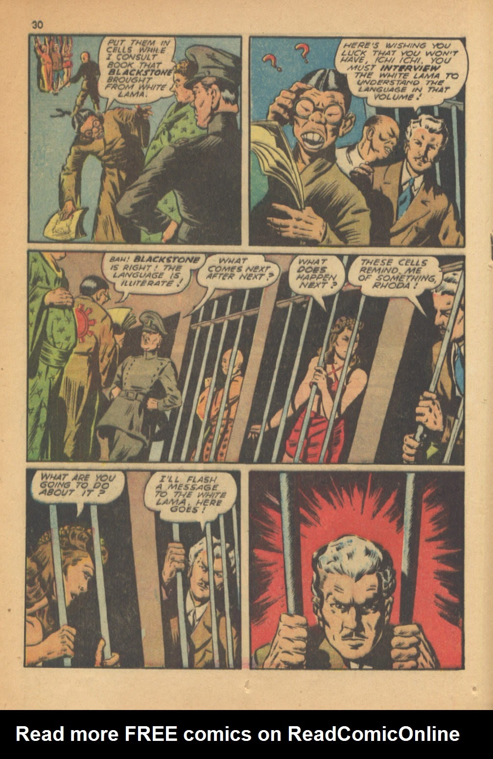 Read online Super-Magician Comics comic -  Issue #13 - 30