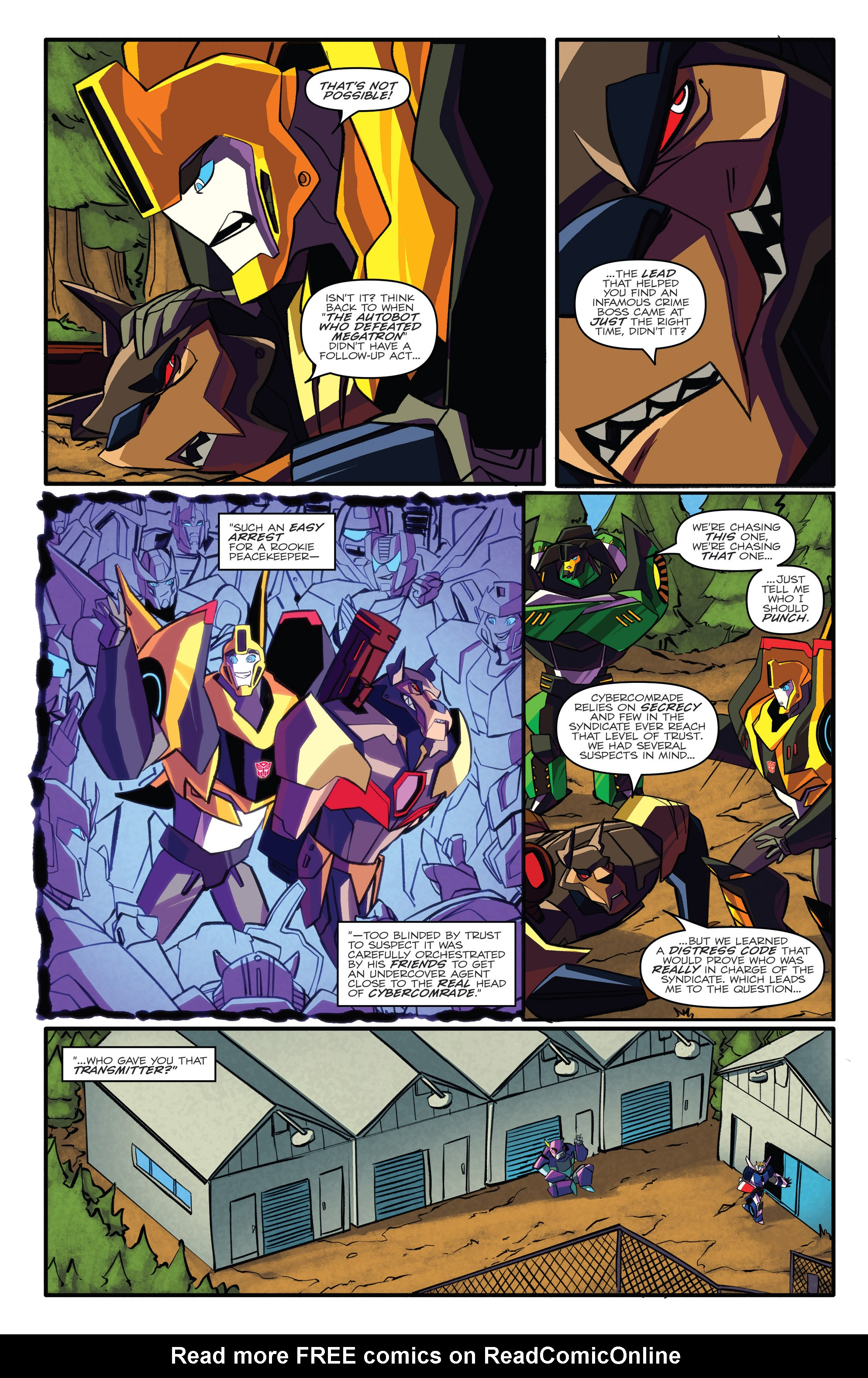 Read online Transformers: Robots In Disguise (2015) comic -  Issue #3 - 21