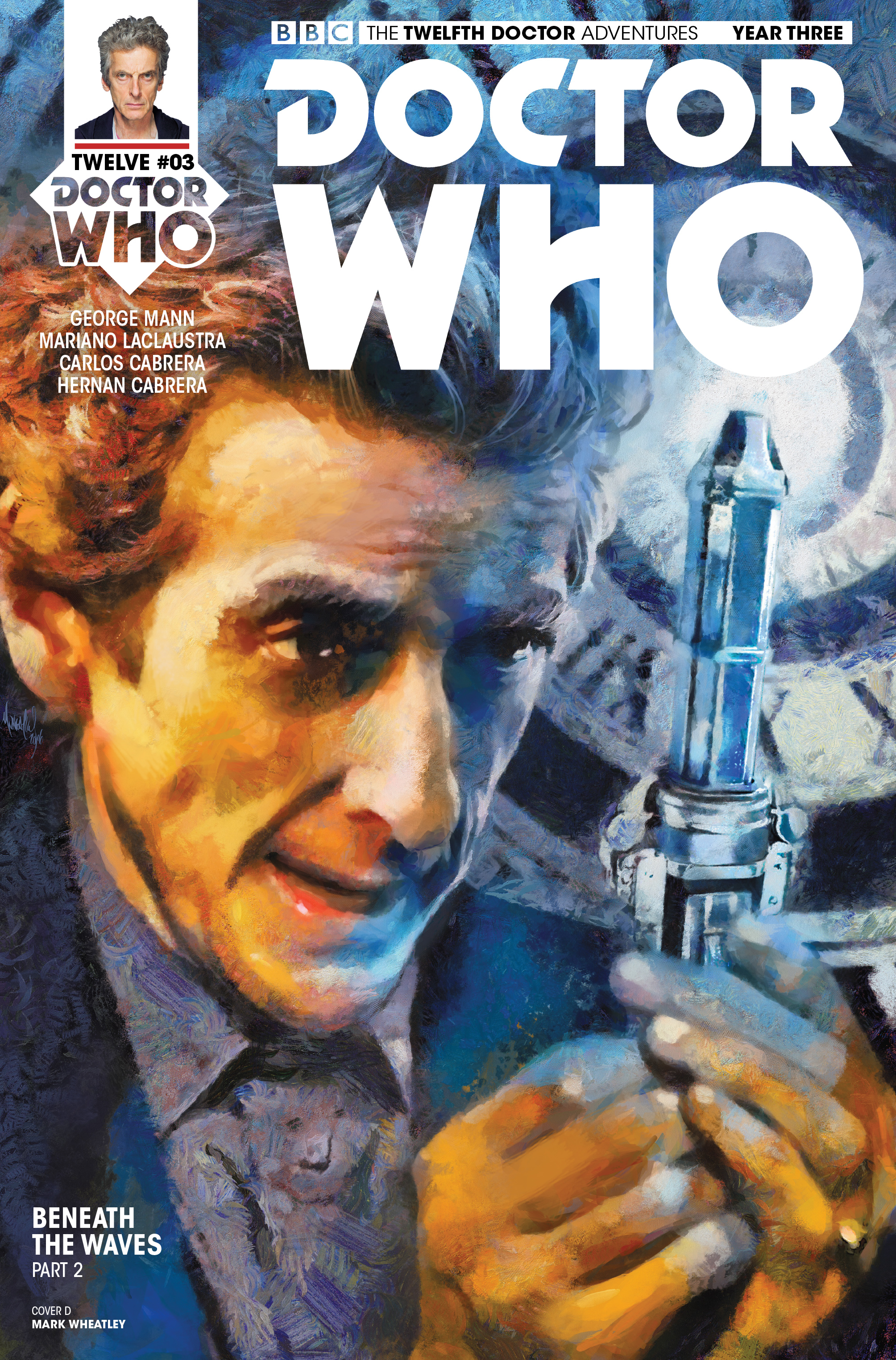 Read online Doctor Who: The Twelfth Doctor Year Three comic -  Issue #3 - 4