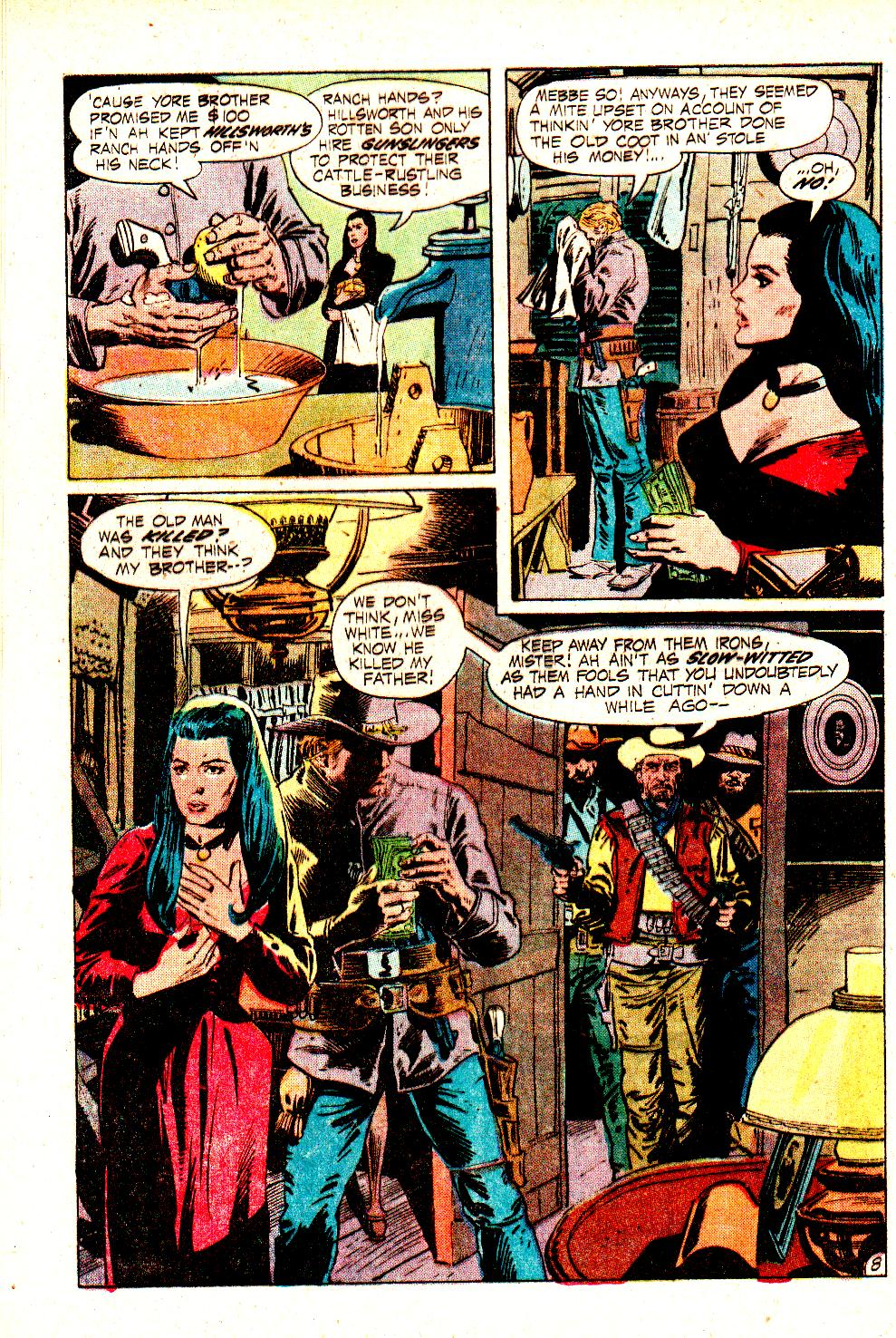 Read online All-Star Western (1970) comic -  Issue #11 - 12