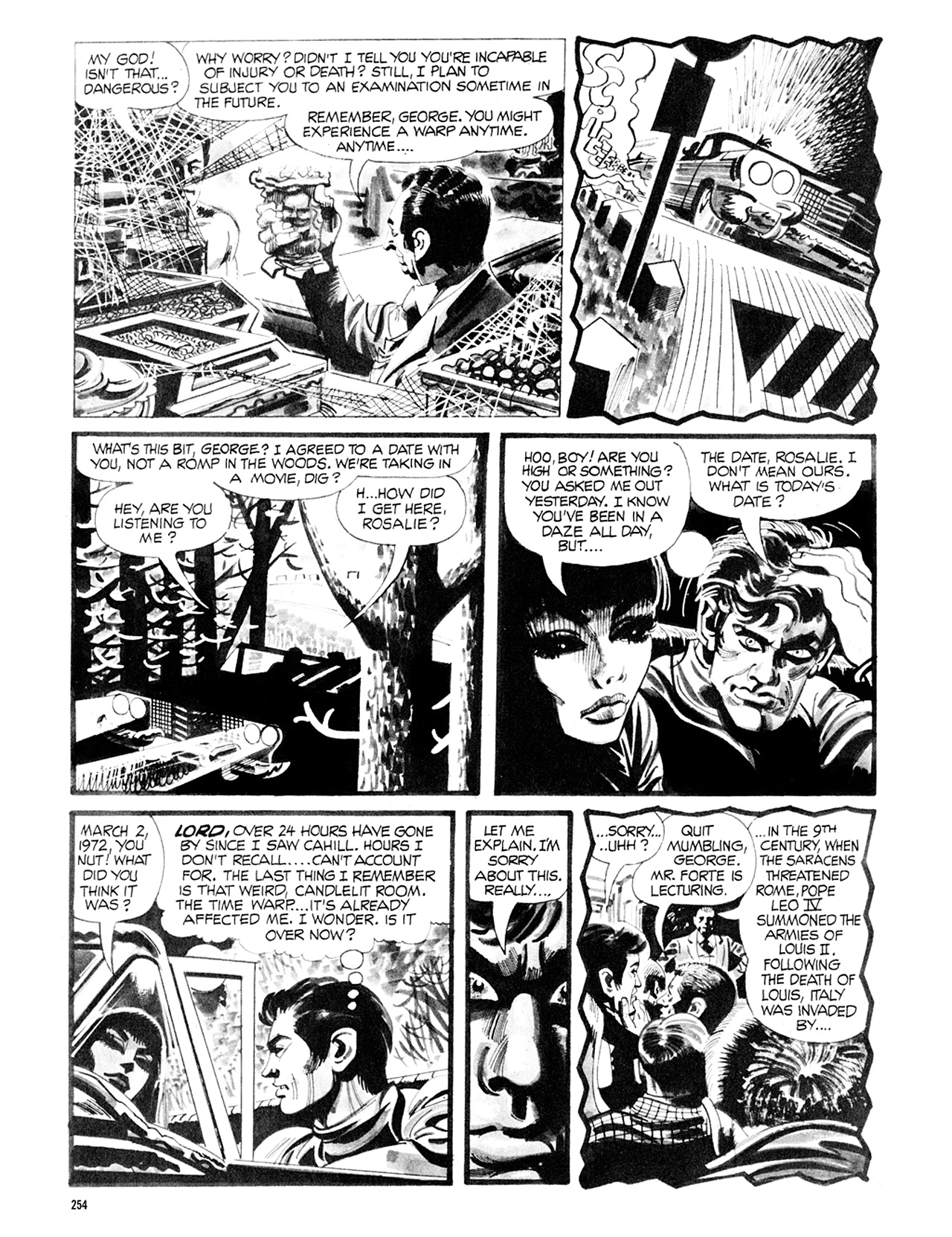 Read online Eerie Archives comic -  Issue # TPB 8 - 255