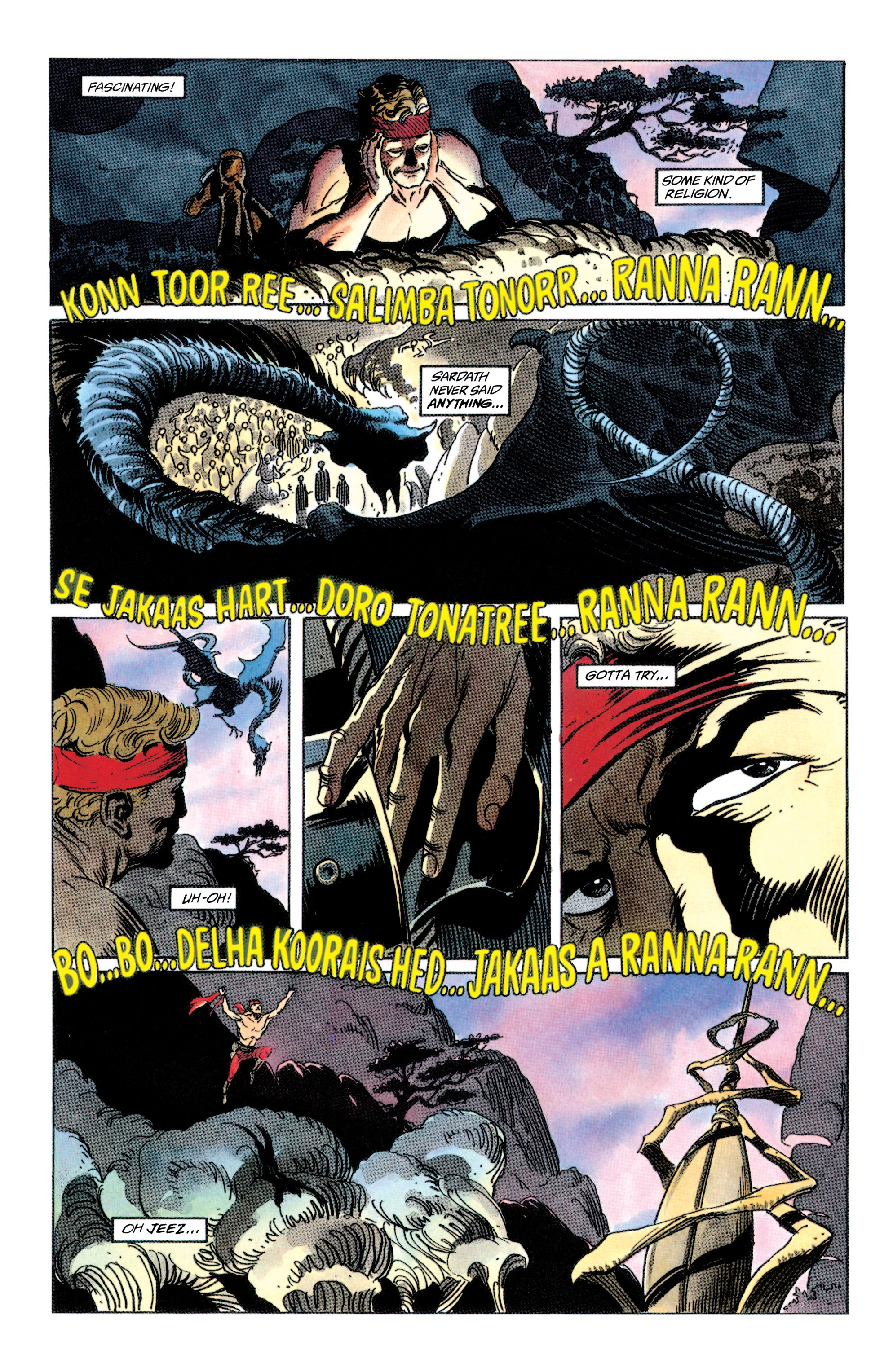 Read online Adam Strange (1990) comic -  Issue #2 - 26