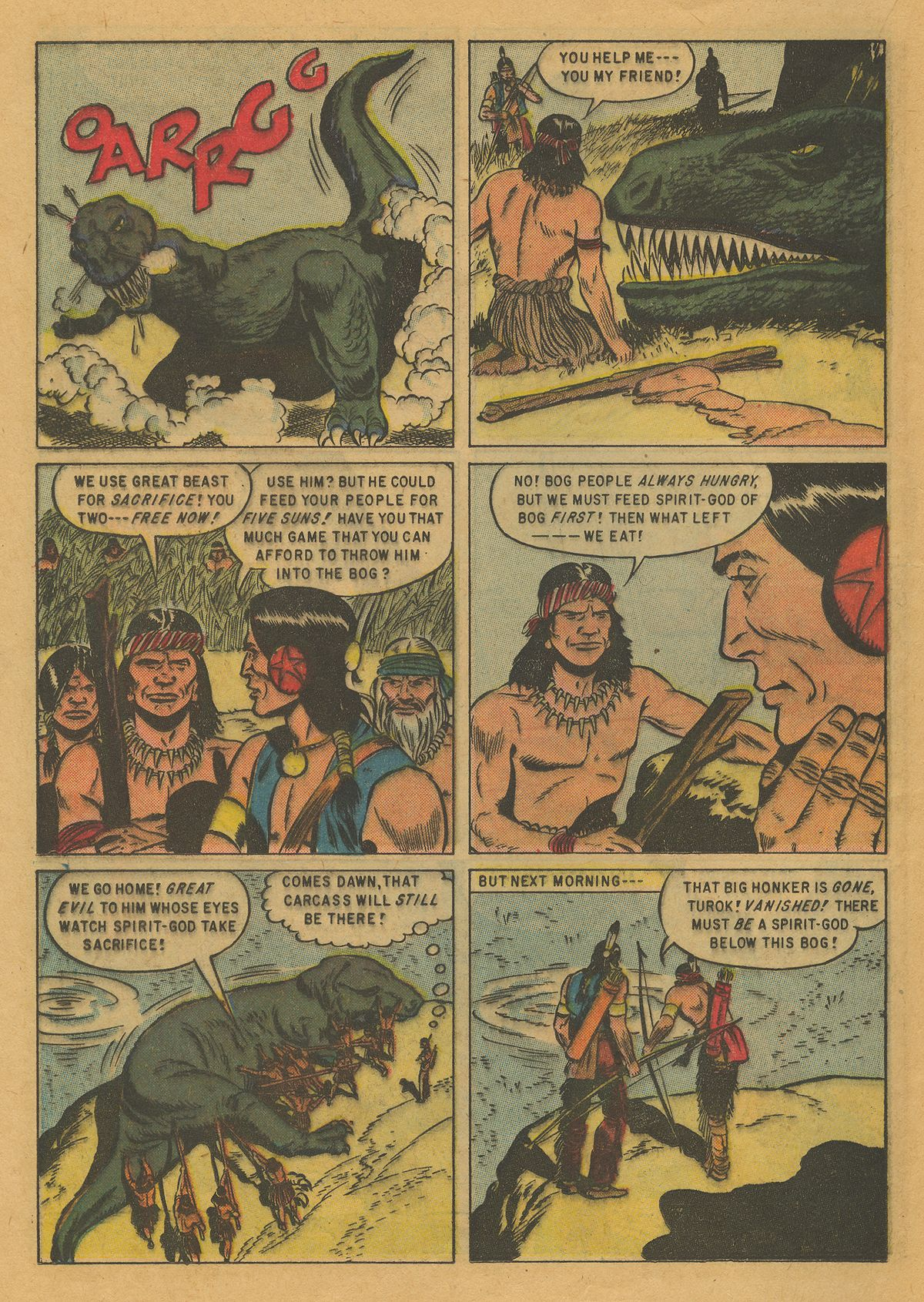 Read online Turok, Son of Stone comic -  Issue #10 - 20