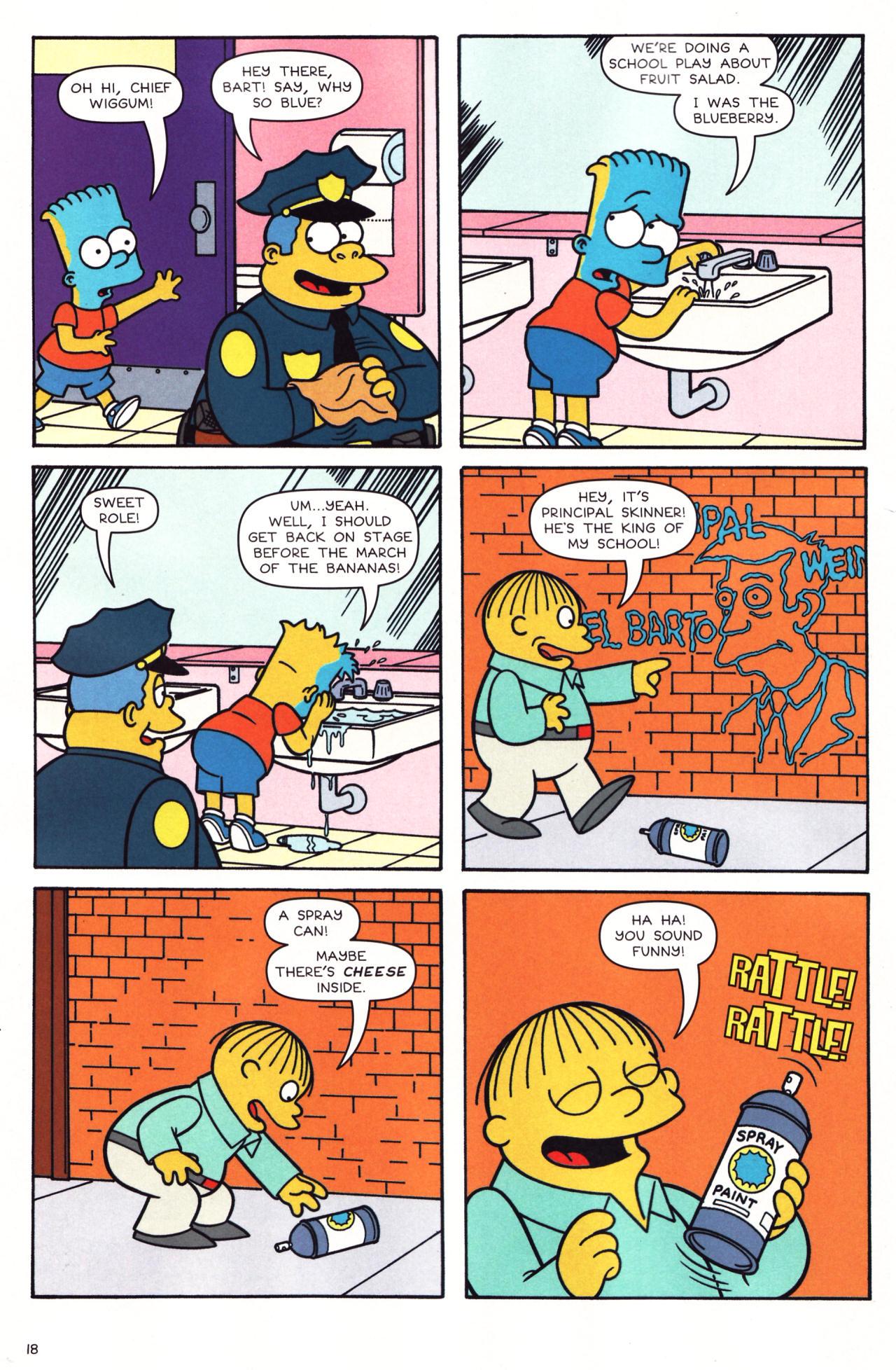 Read online Simpsons Comics comic -  Issue #136 - 13