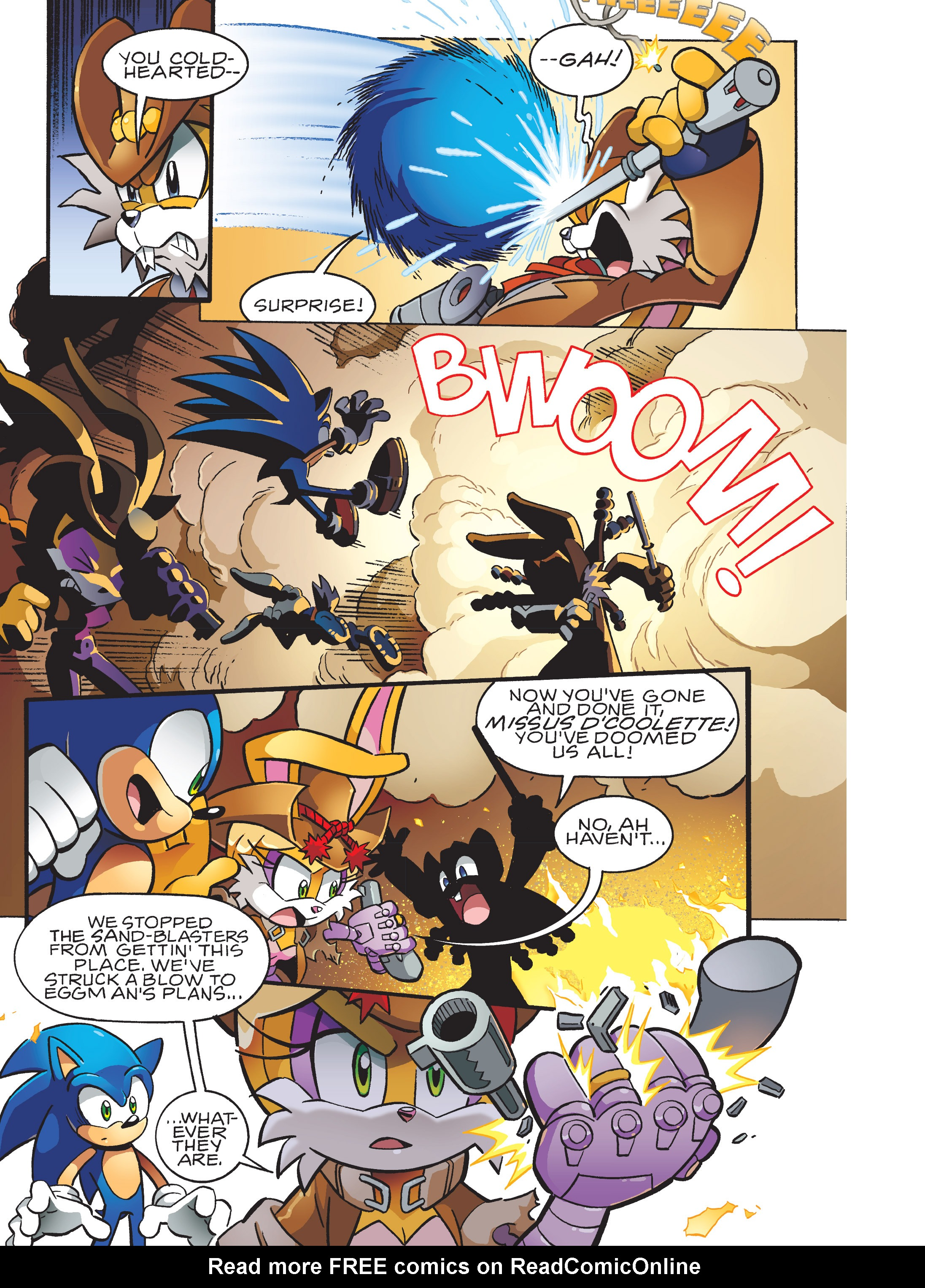 Read online Sonic Super Digest comic -  Issue #10 - 110