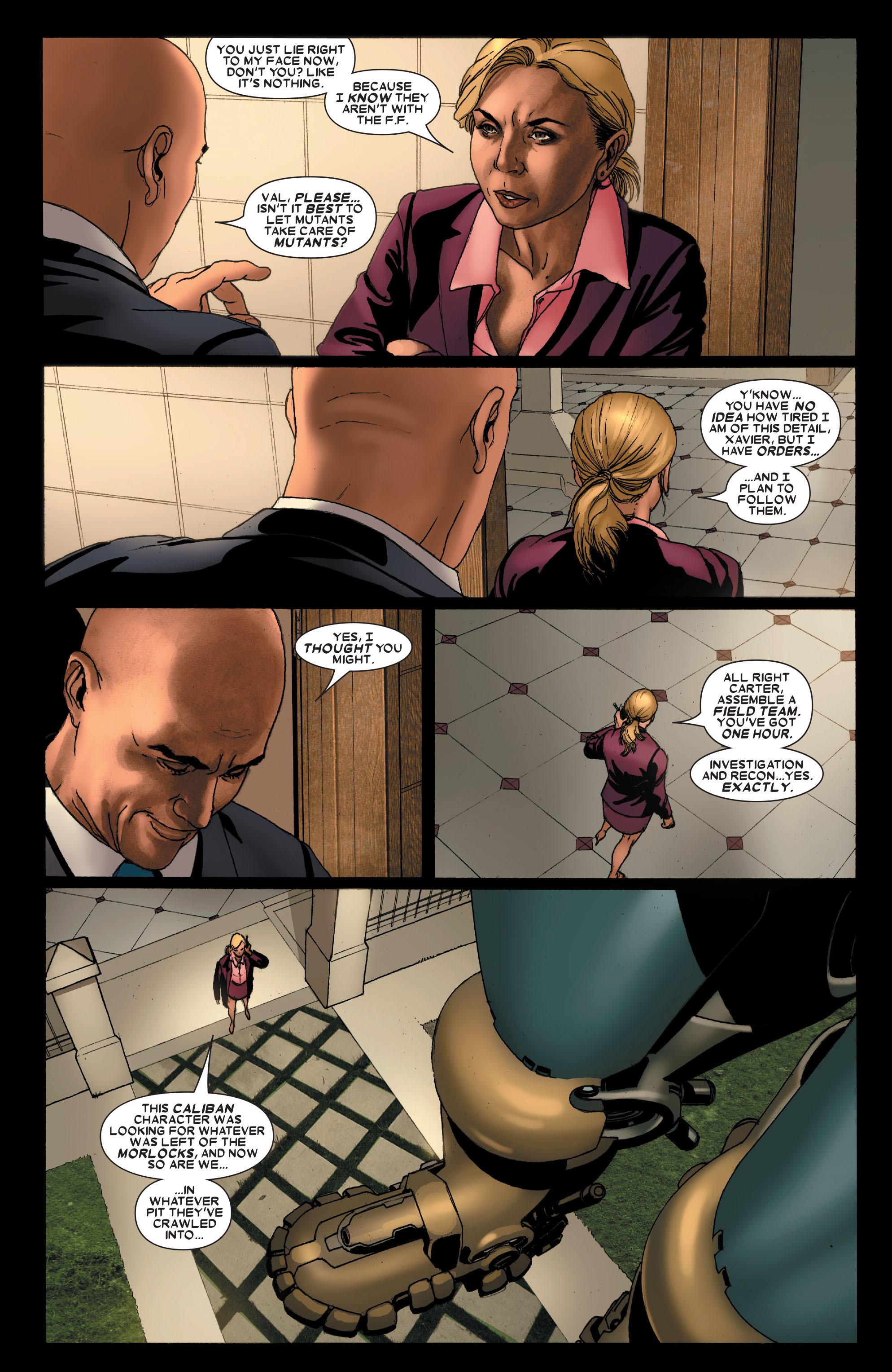 Read online Uncanny X-Men (1963) comic -  Issue #488 - 9