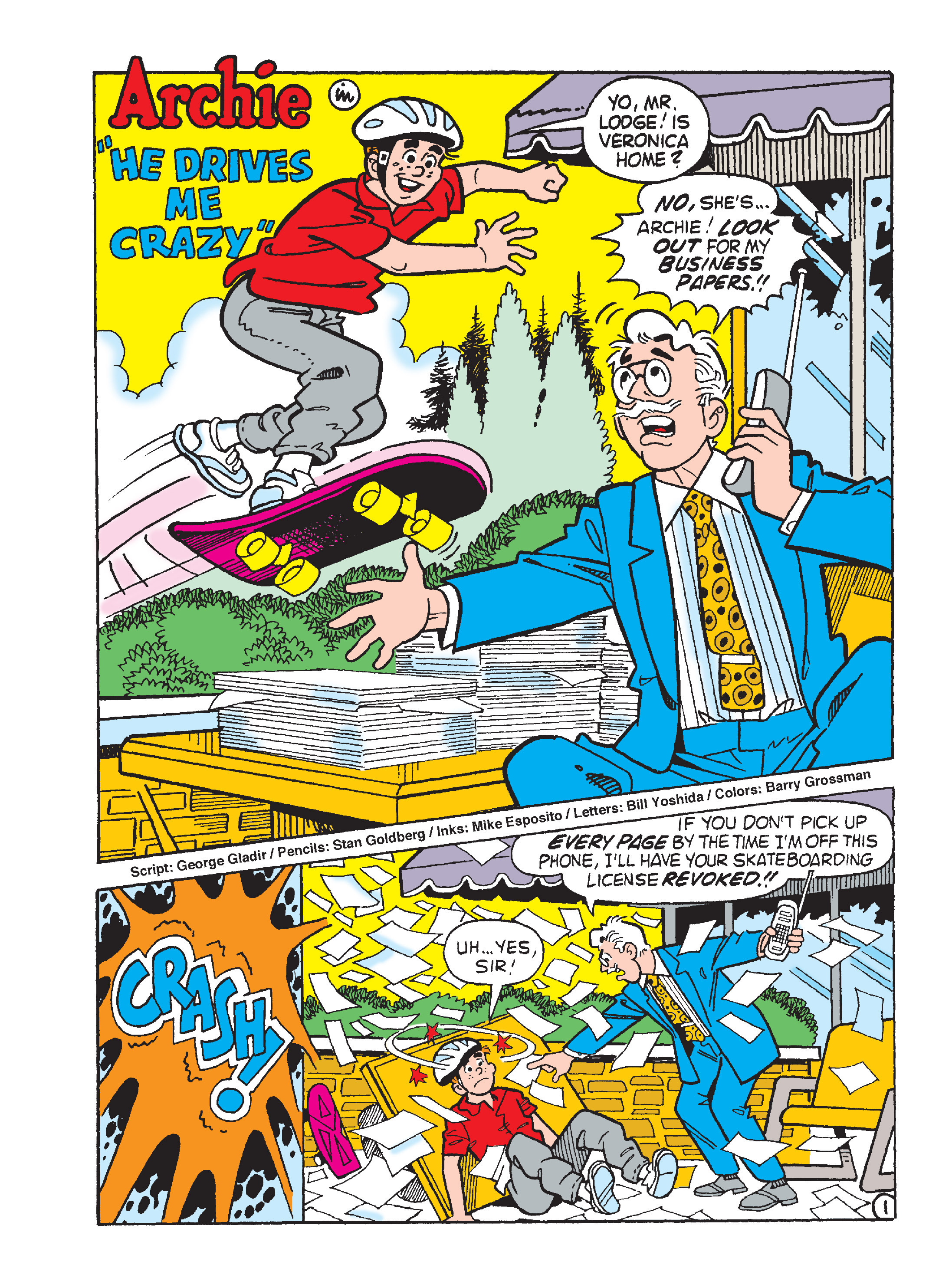 Read online Archie's Funhouse Double Digest comic -  Issue #15 - 197