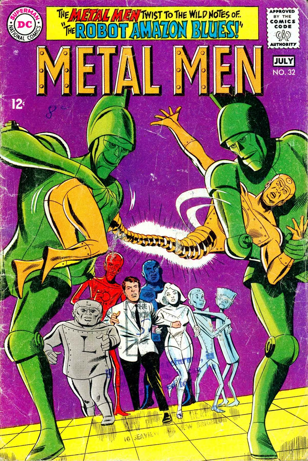 Metal Men (1963) issue 32 - Page 1
