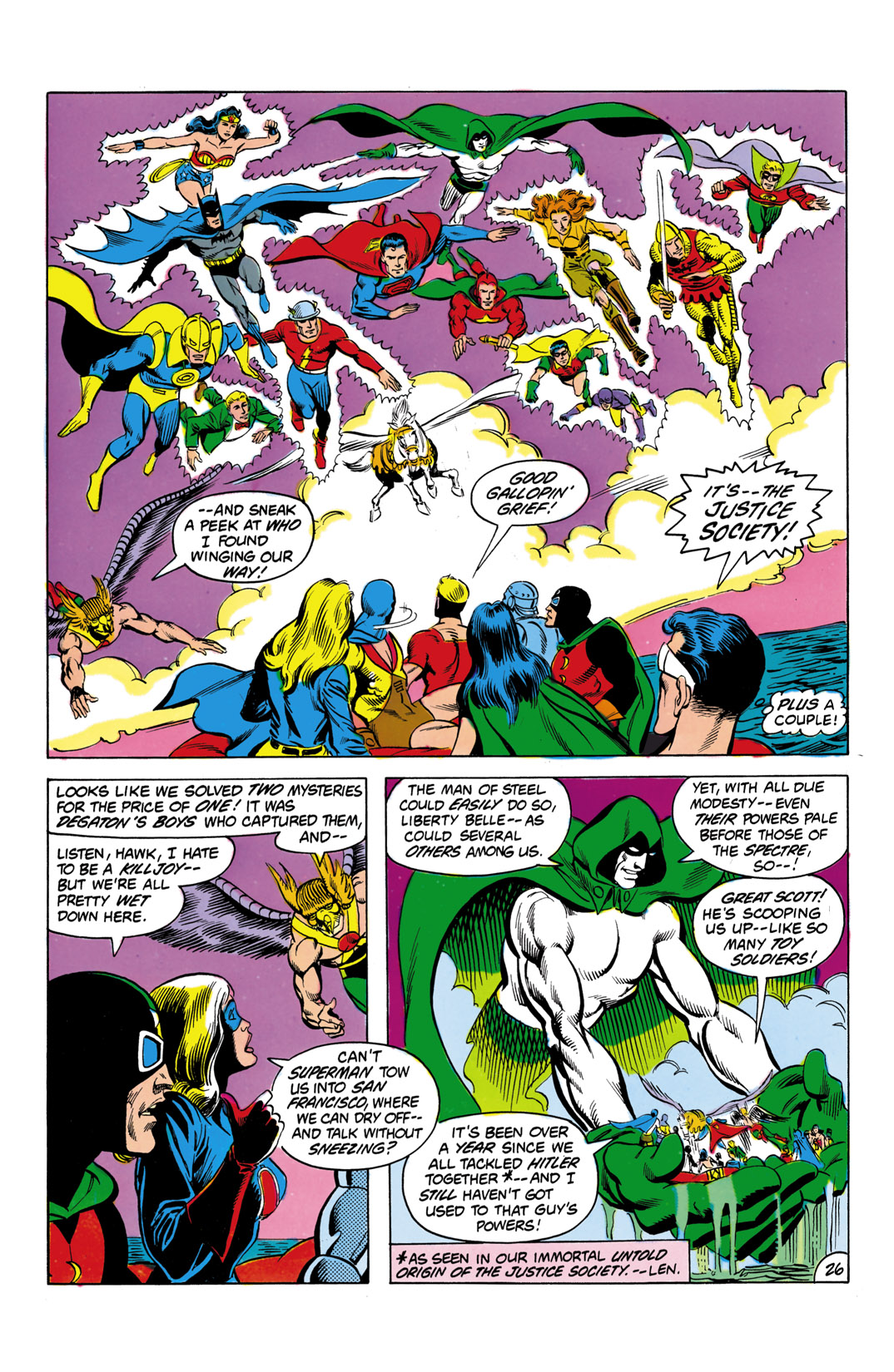 Read online All-Star Squadron comic -  Issue #3 - 27