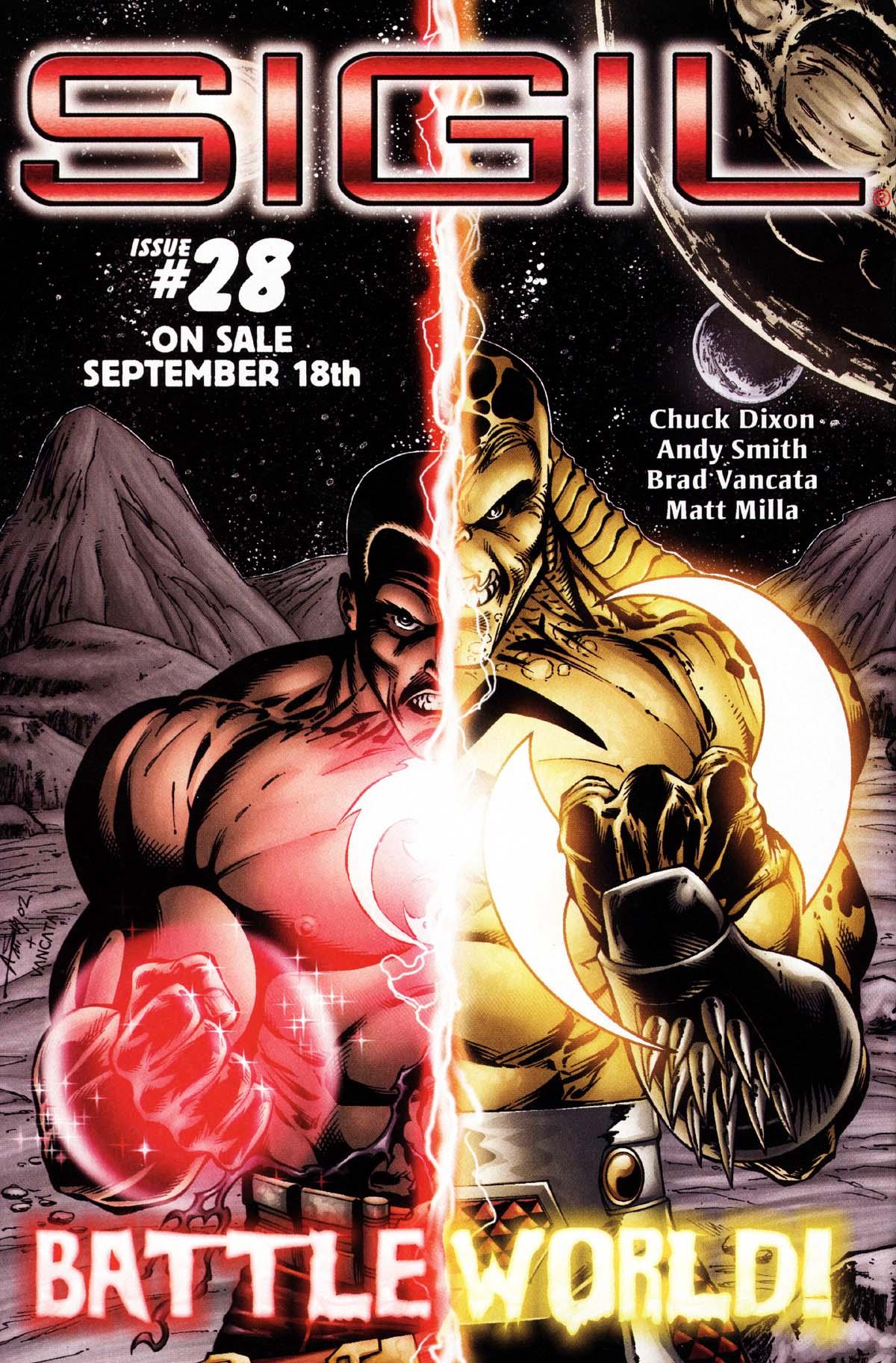 Read online Sigil (2000) comic -  Issue #27 - 30
