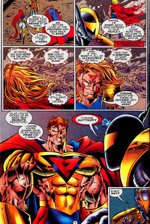 Read online UltraForce (1995) comic -  Issue #13 - 10