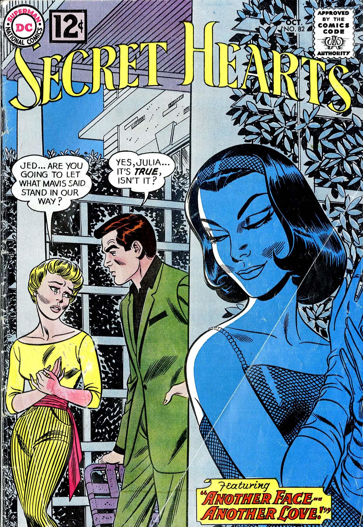 Read online Secret Hearts comic -  Issue #82 - 1