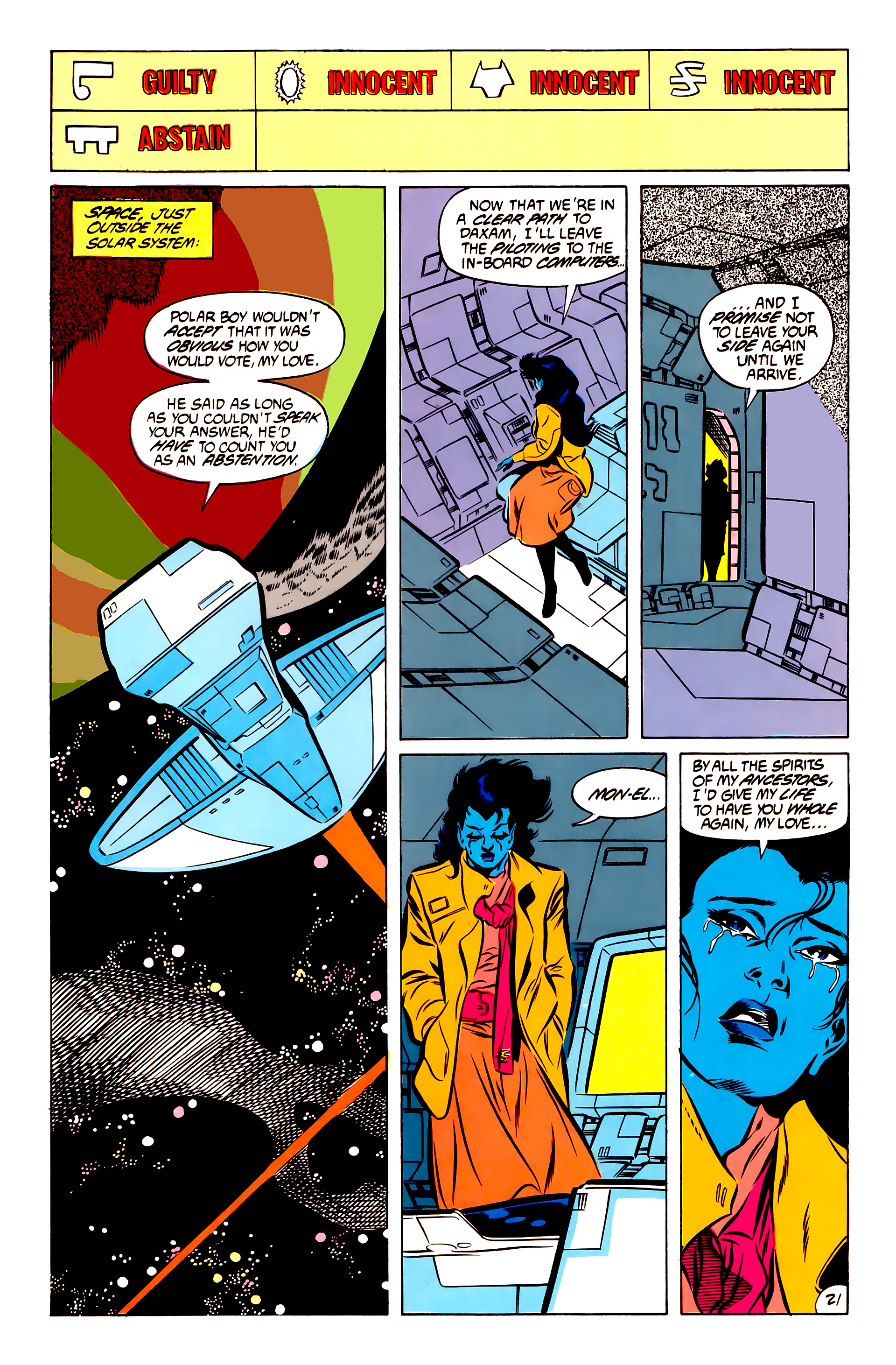Legion of Super-Heroes (1984) 51 Page 21