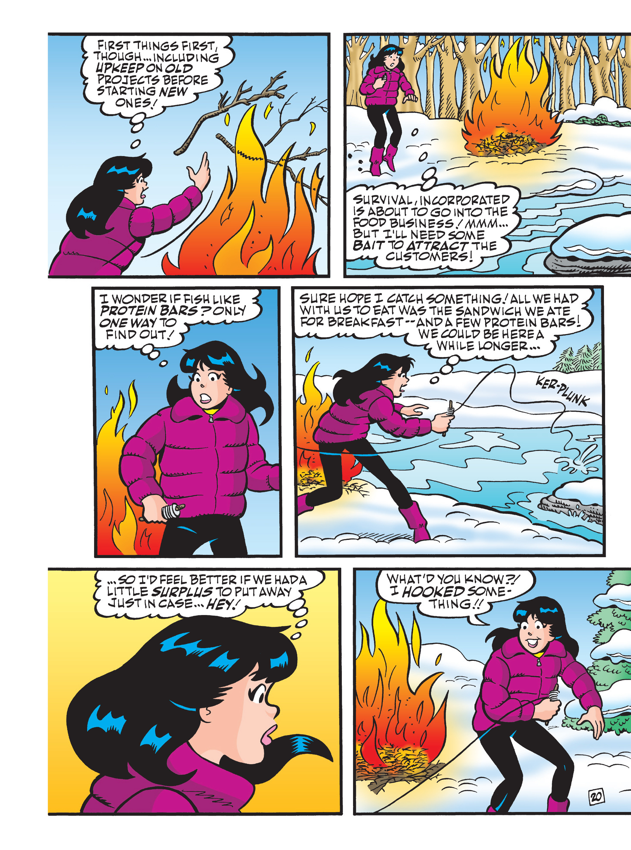 Read online Archie 75th Anniversary Digest comic -  Issue #4 - 114