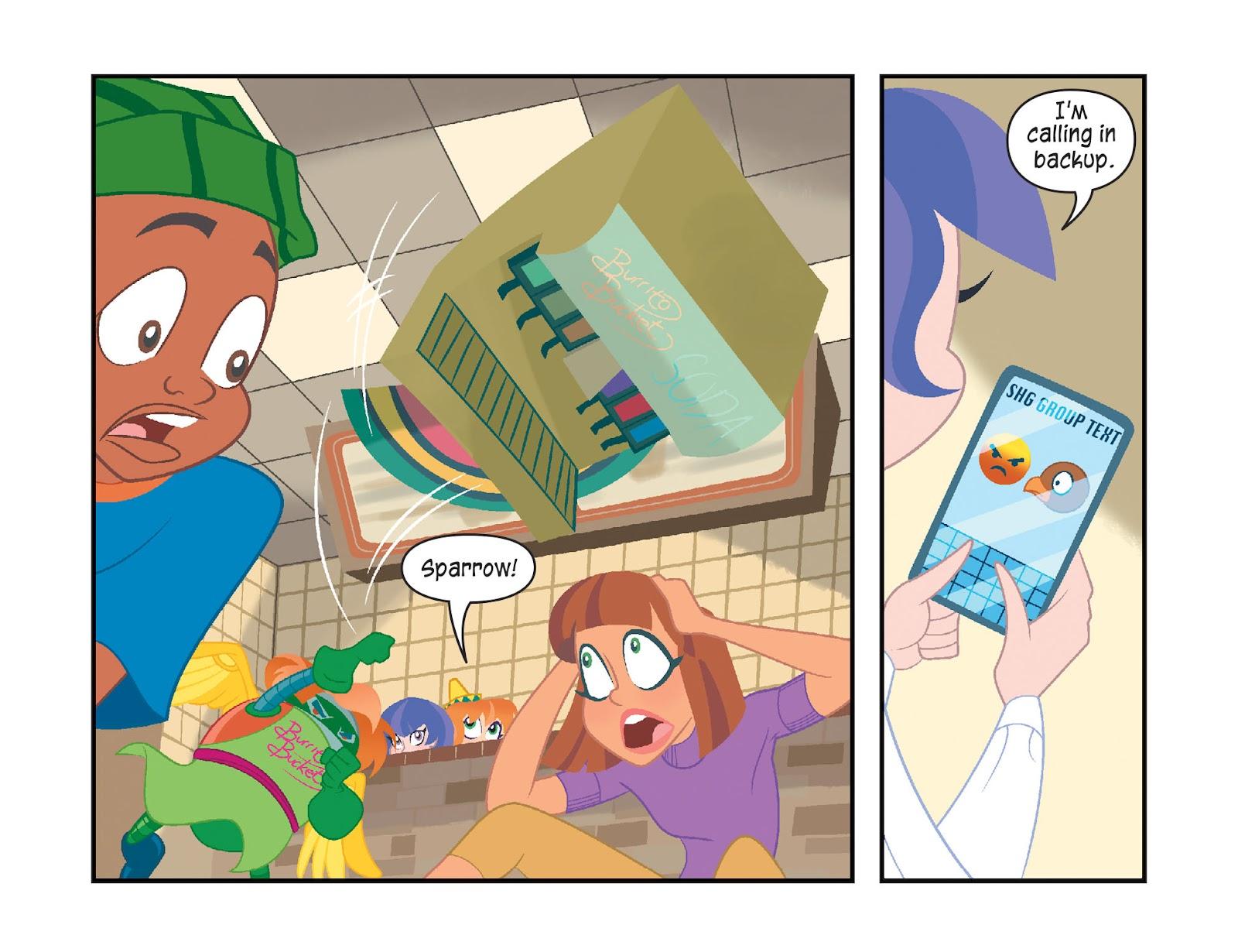 Read online DC Super Hero Girls: Weird Science comic -  Issue #11 - 20