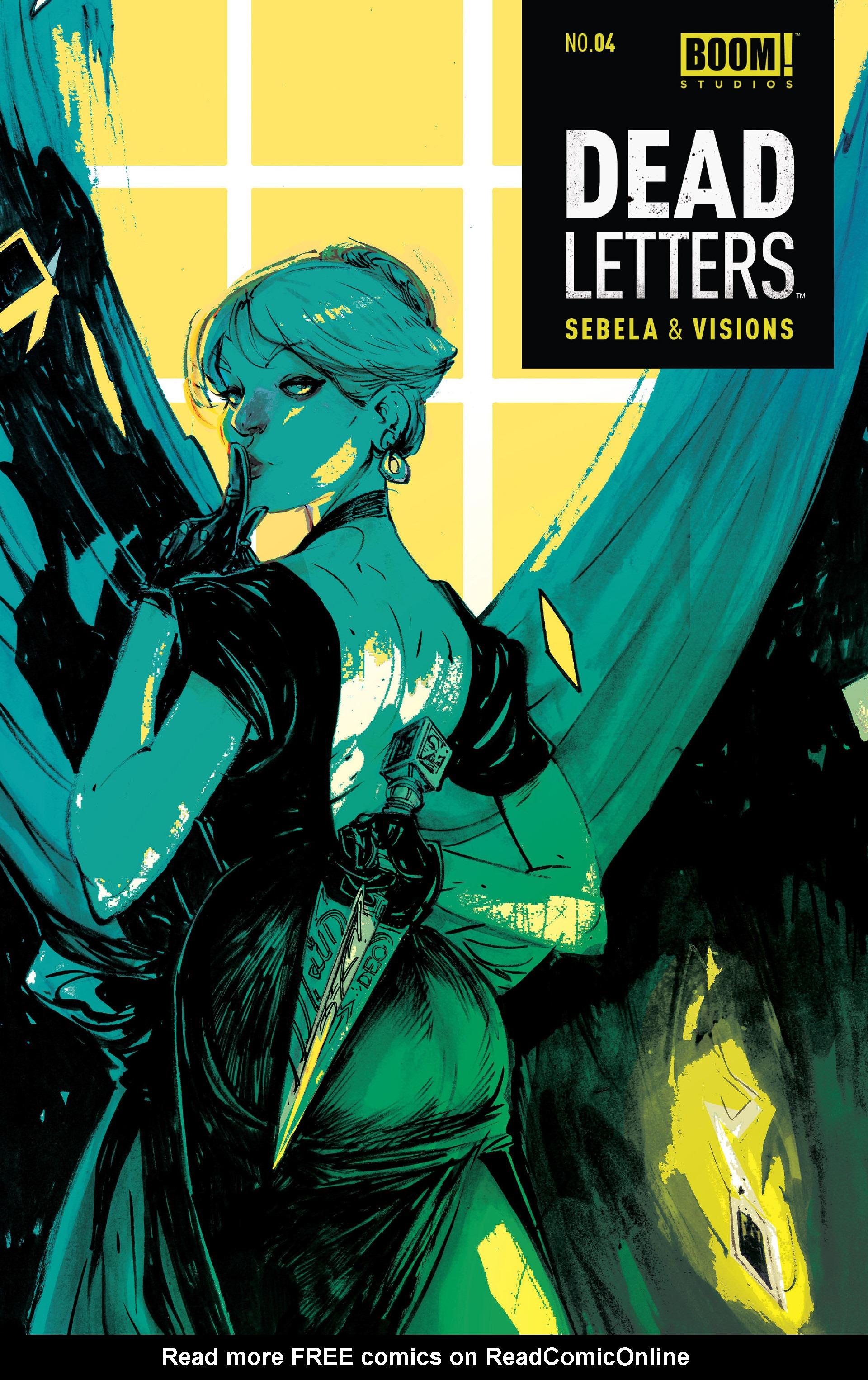 Dead Letters 4 Page 1