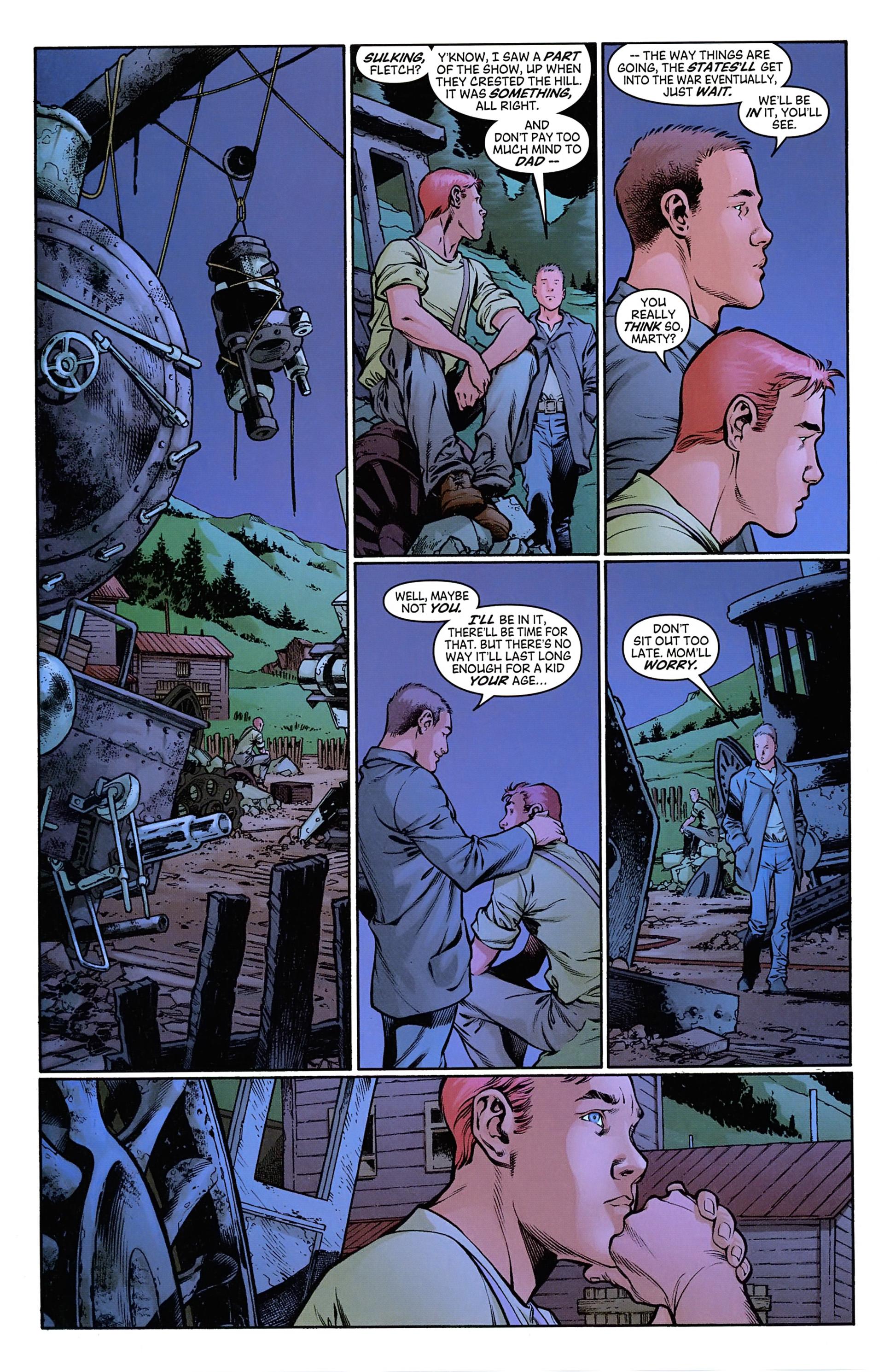 Read online Arrowsmith comic -  Issue #1 - 14
