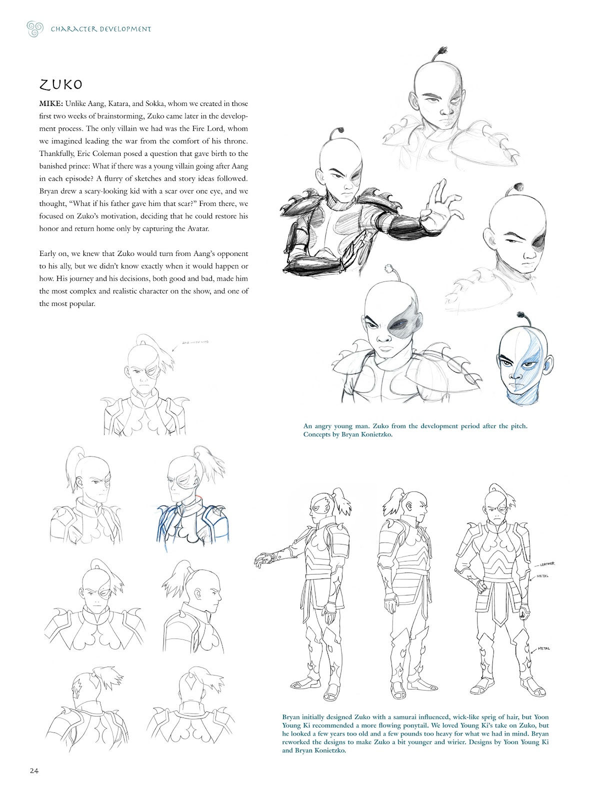 Read online Avatar: The Last Airbender - The Art of the Animated Series comic -  Issue # TPB (Part 1) - 27