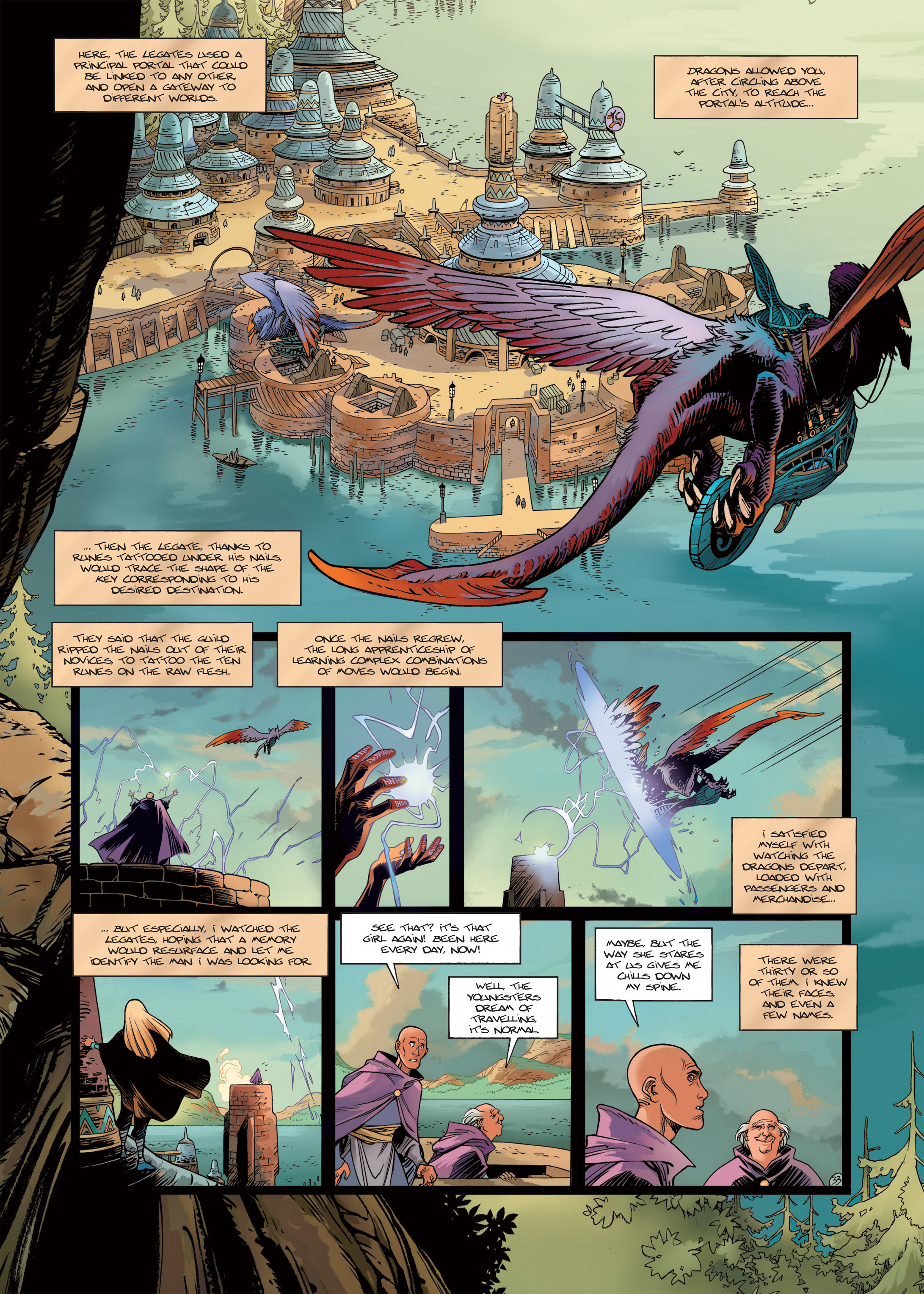 Read online Sangre Vol. 1: Sangre the Survivor comic -  Issue # Full - 35