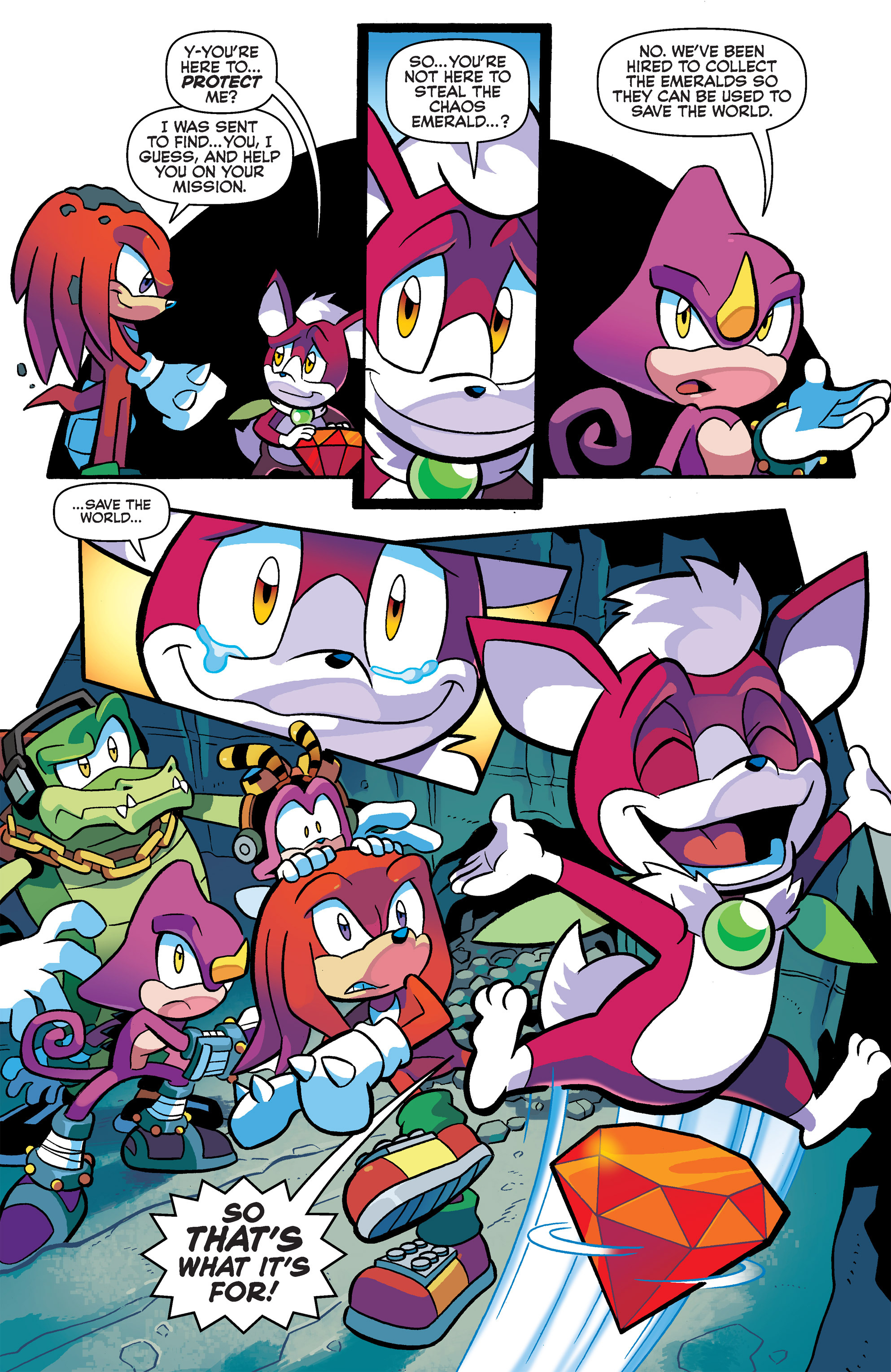 Read online Sonic Universe comic -  Issue #65 - 7