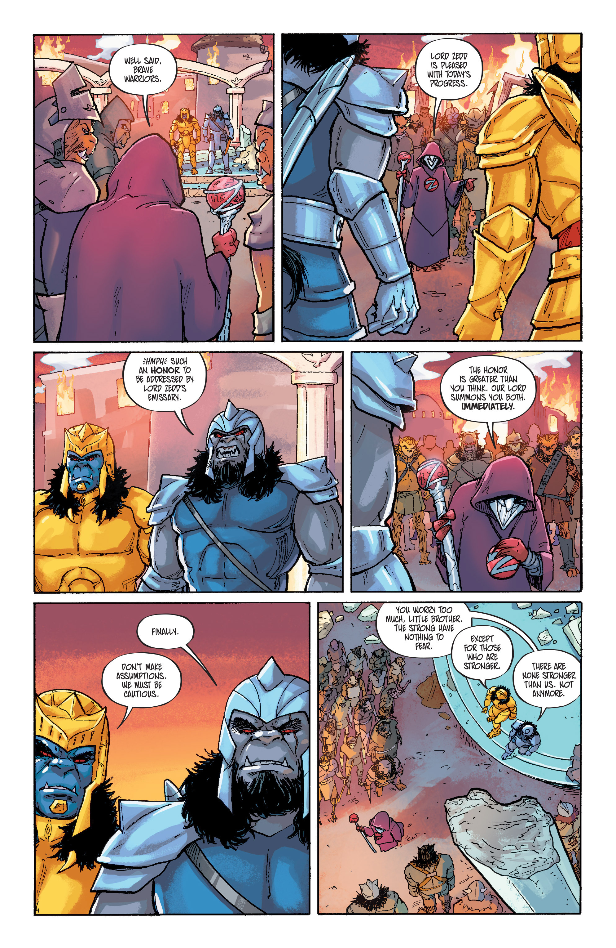 Read online Mighty Morphin Power Rangers comic -  Issue # _Annual 1 - 24