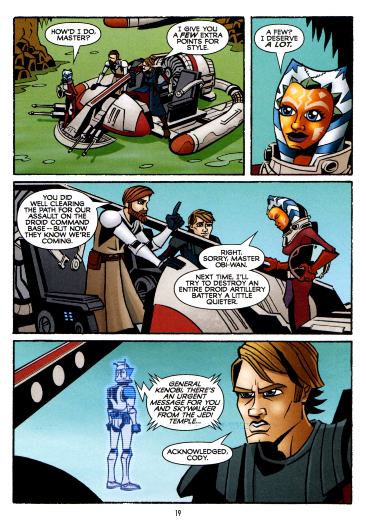Read online Star Wars: The Clone Wars - Crash Course comic -  Issue # Full - 20