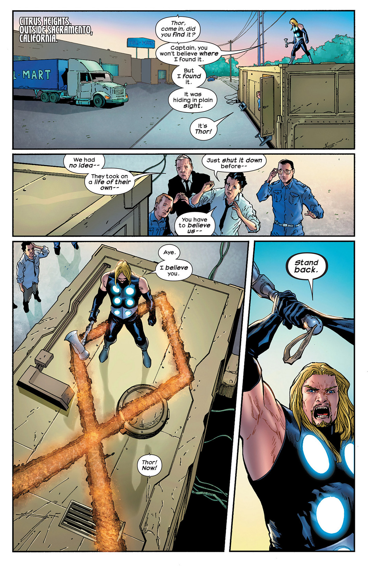Read online Ultimate Comics Ultimates comic -  Issue #15 - 20