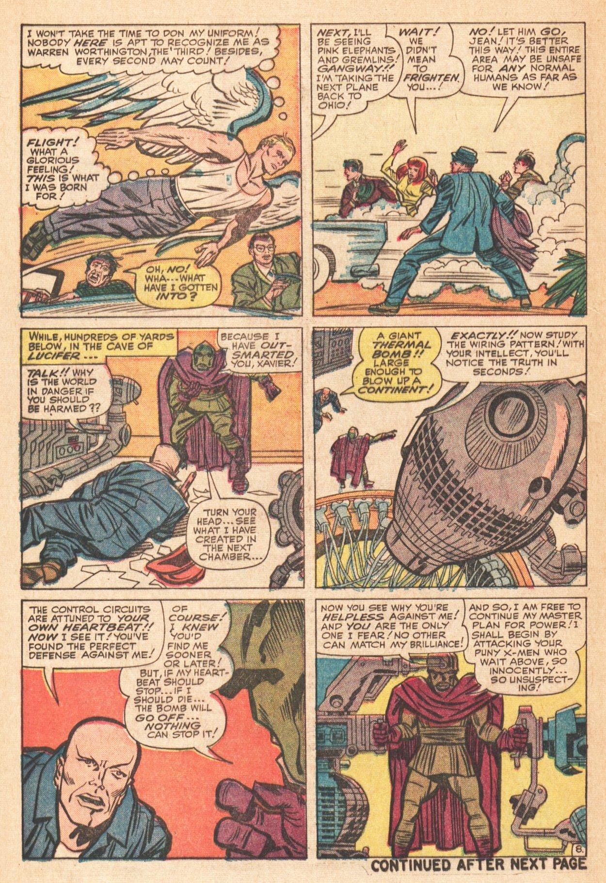 Read online Uncanny X-Men (1963) comic -  Issue # _Annual 1 - 10