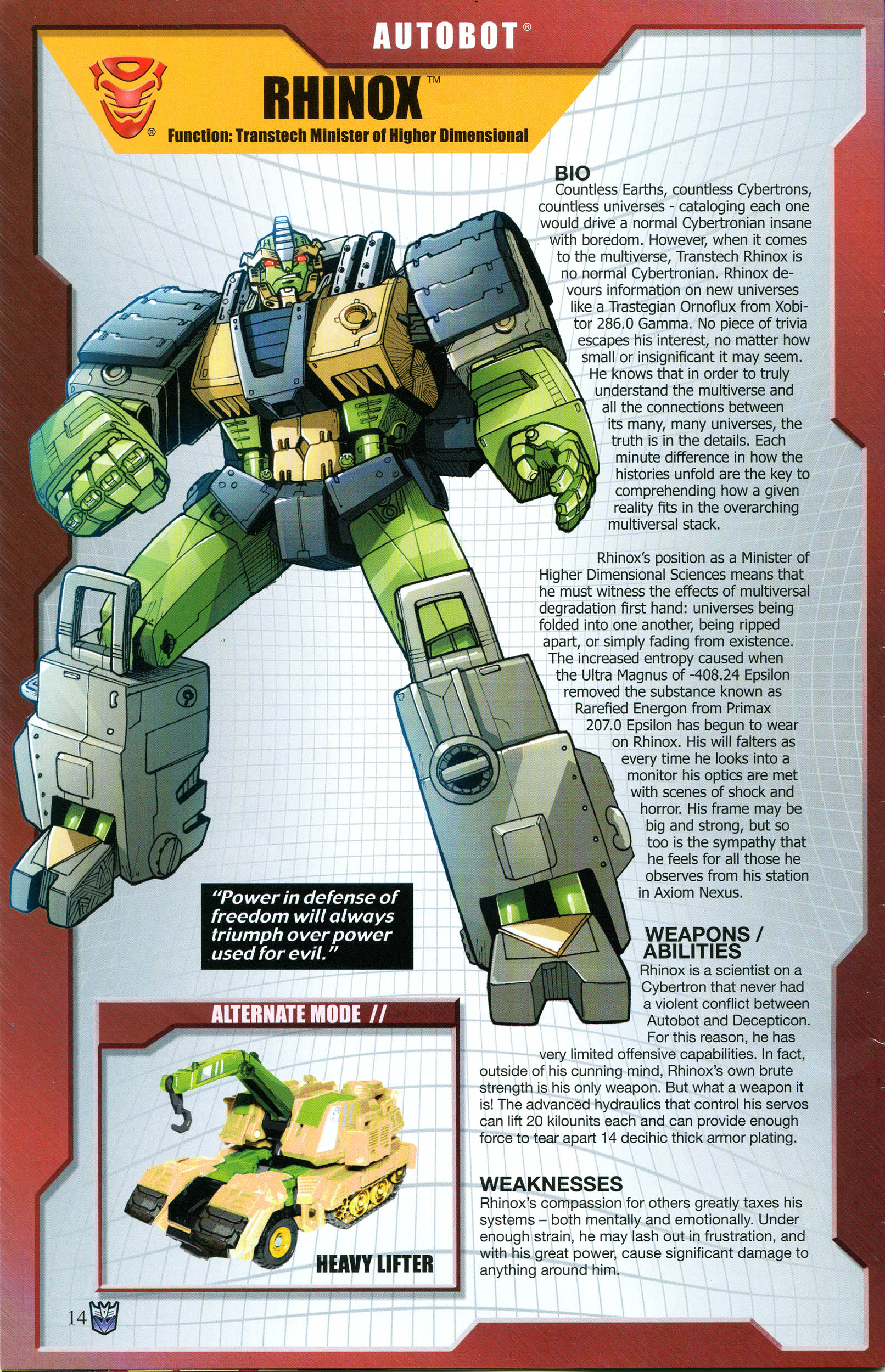 Read online Transformers: Collectors' Club comic -  Issue #54 - 14